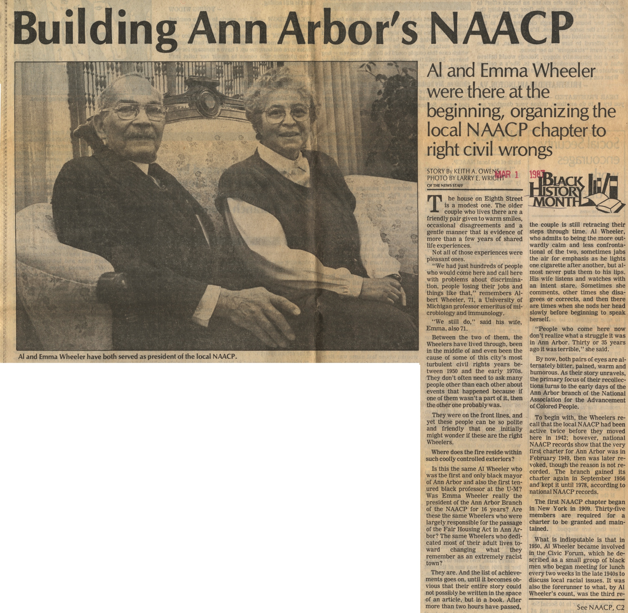 Building Ann Arbor's NAACP image