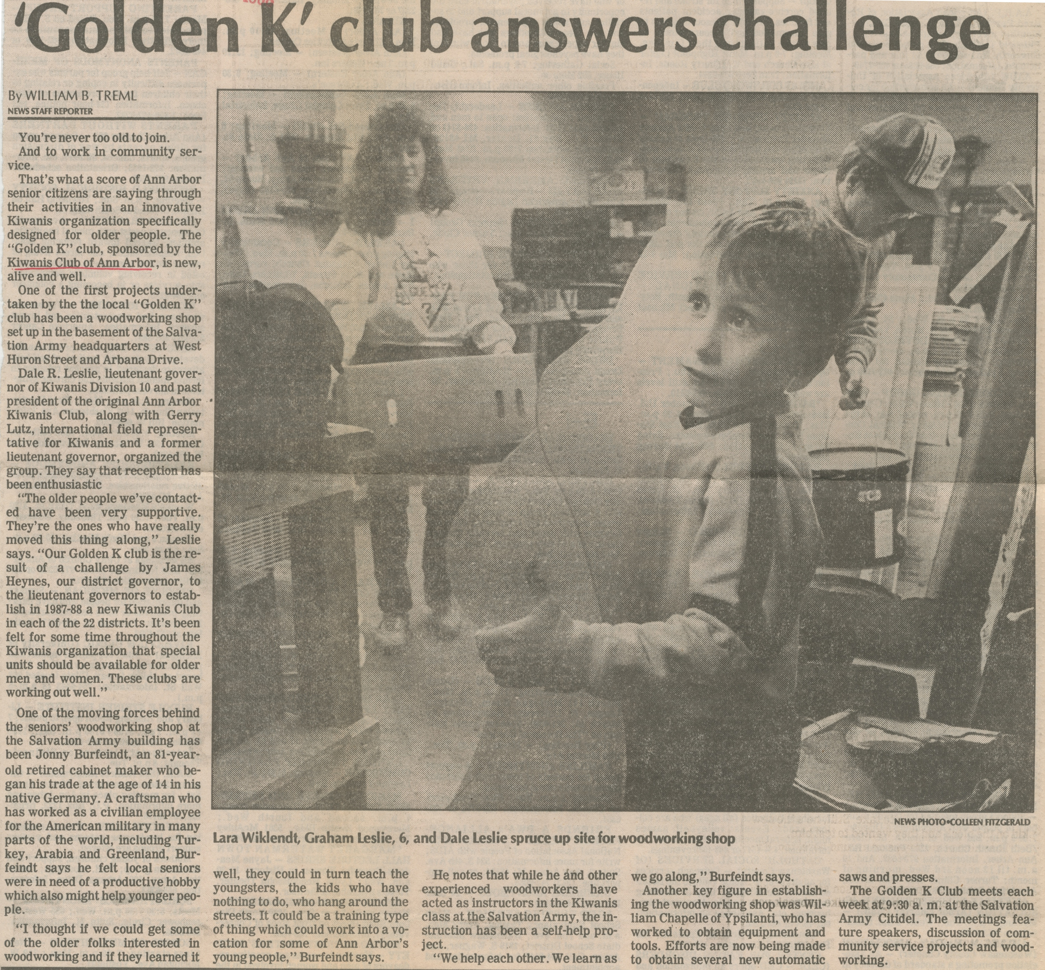'Golden K' Club Answers Challenge image
