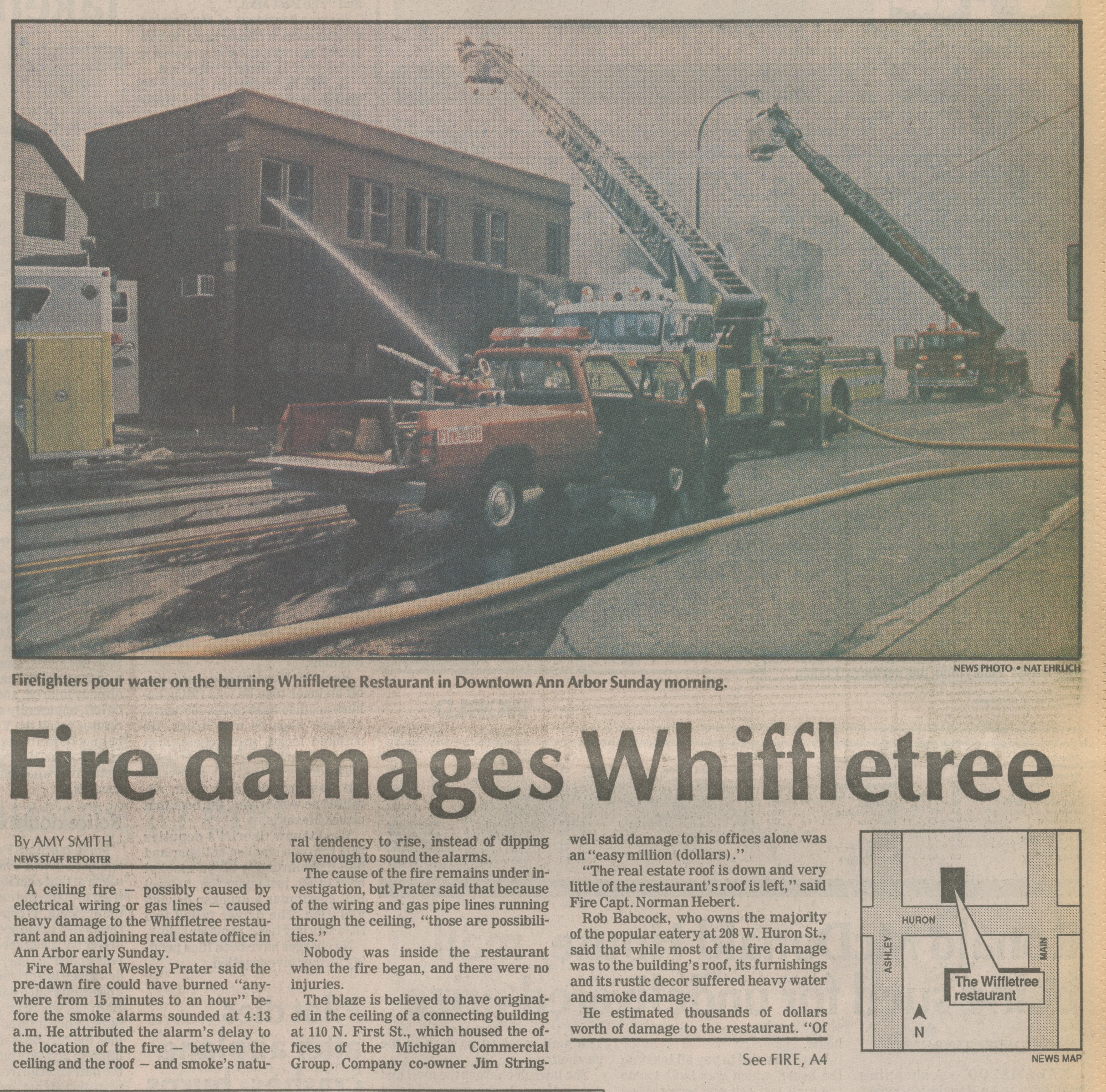 Fire damages Whiffletree image