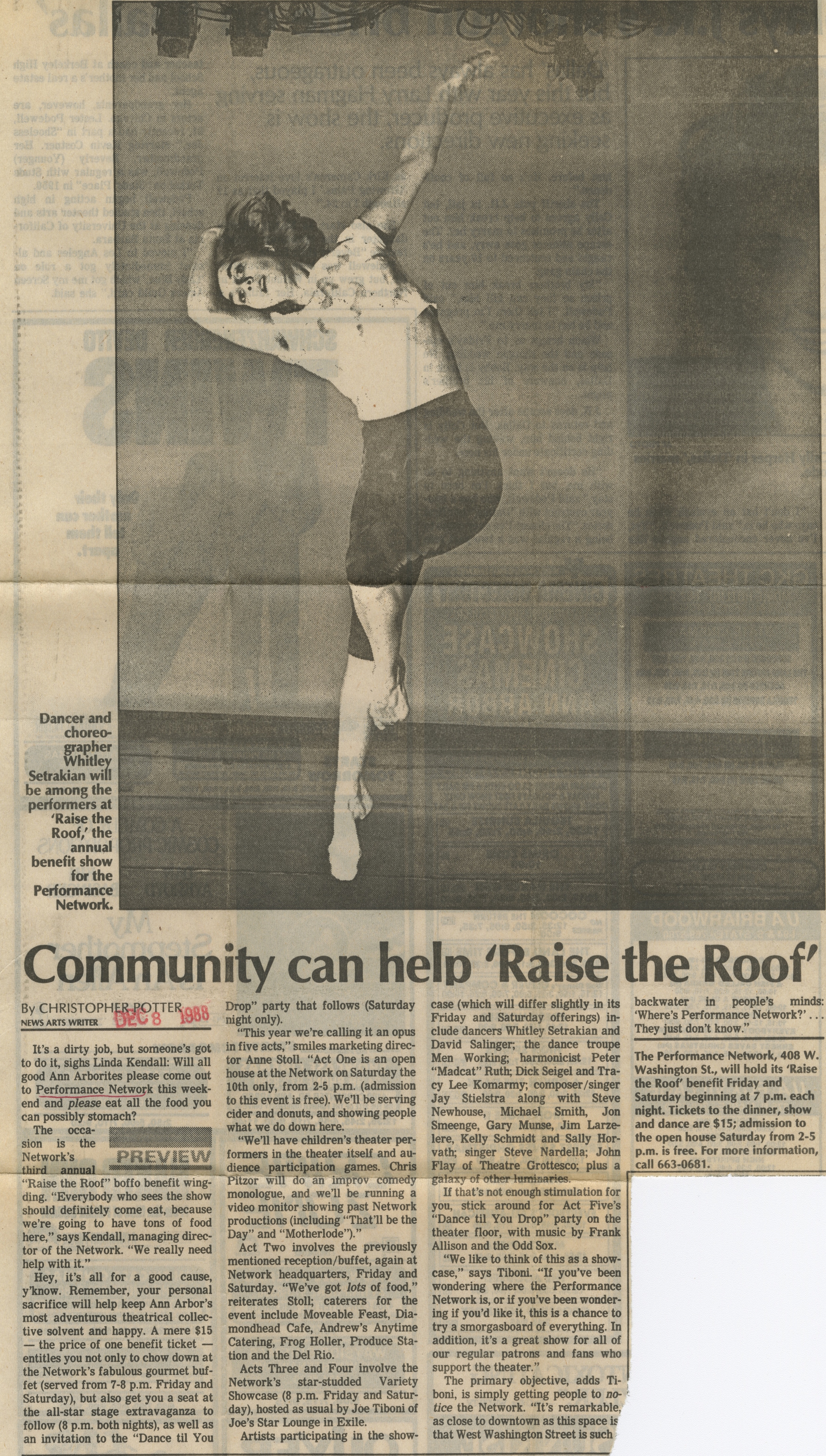 Community can help 'Raise the Roof' image
