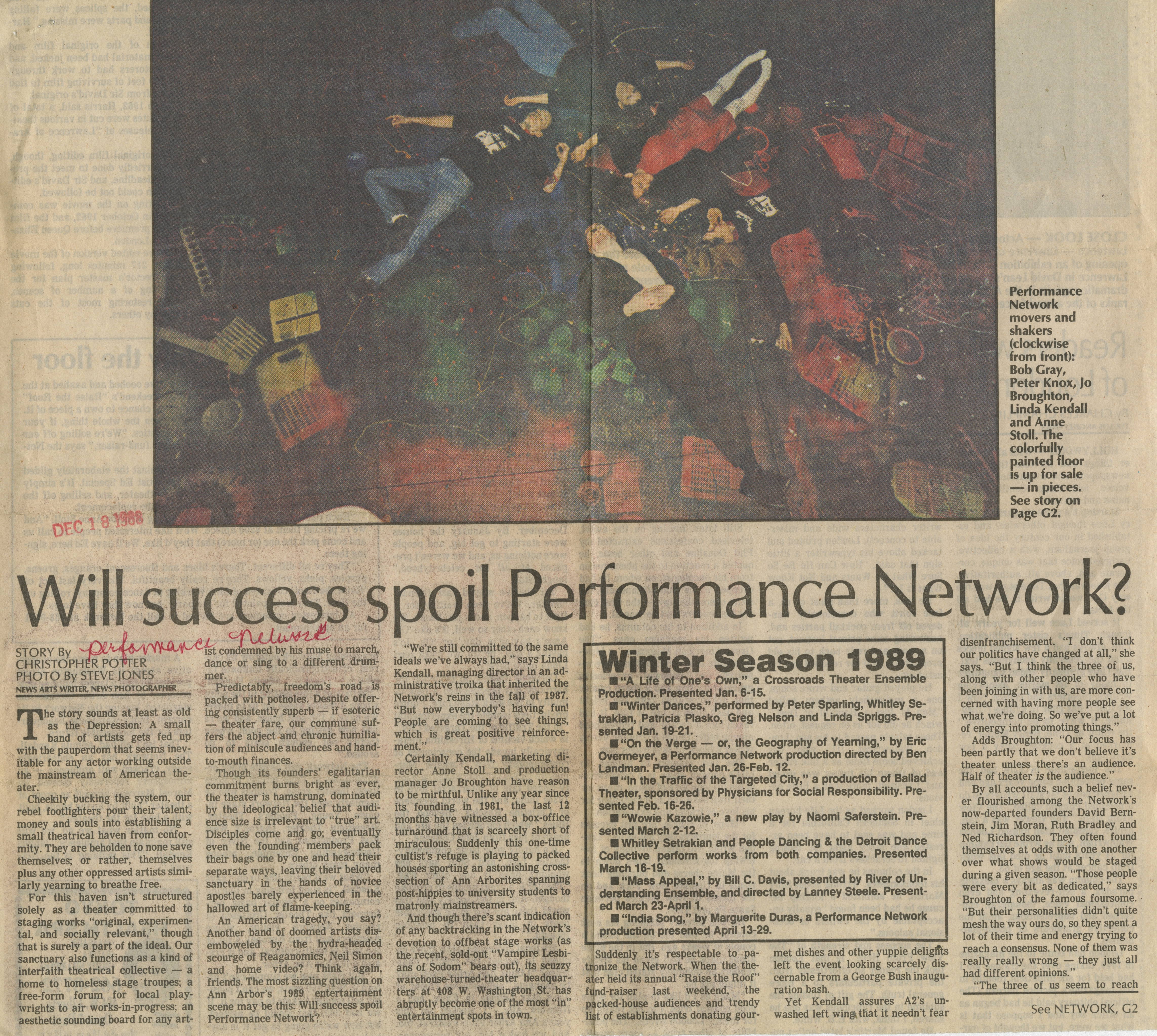 Will success spoil Performance Network? image