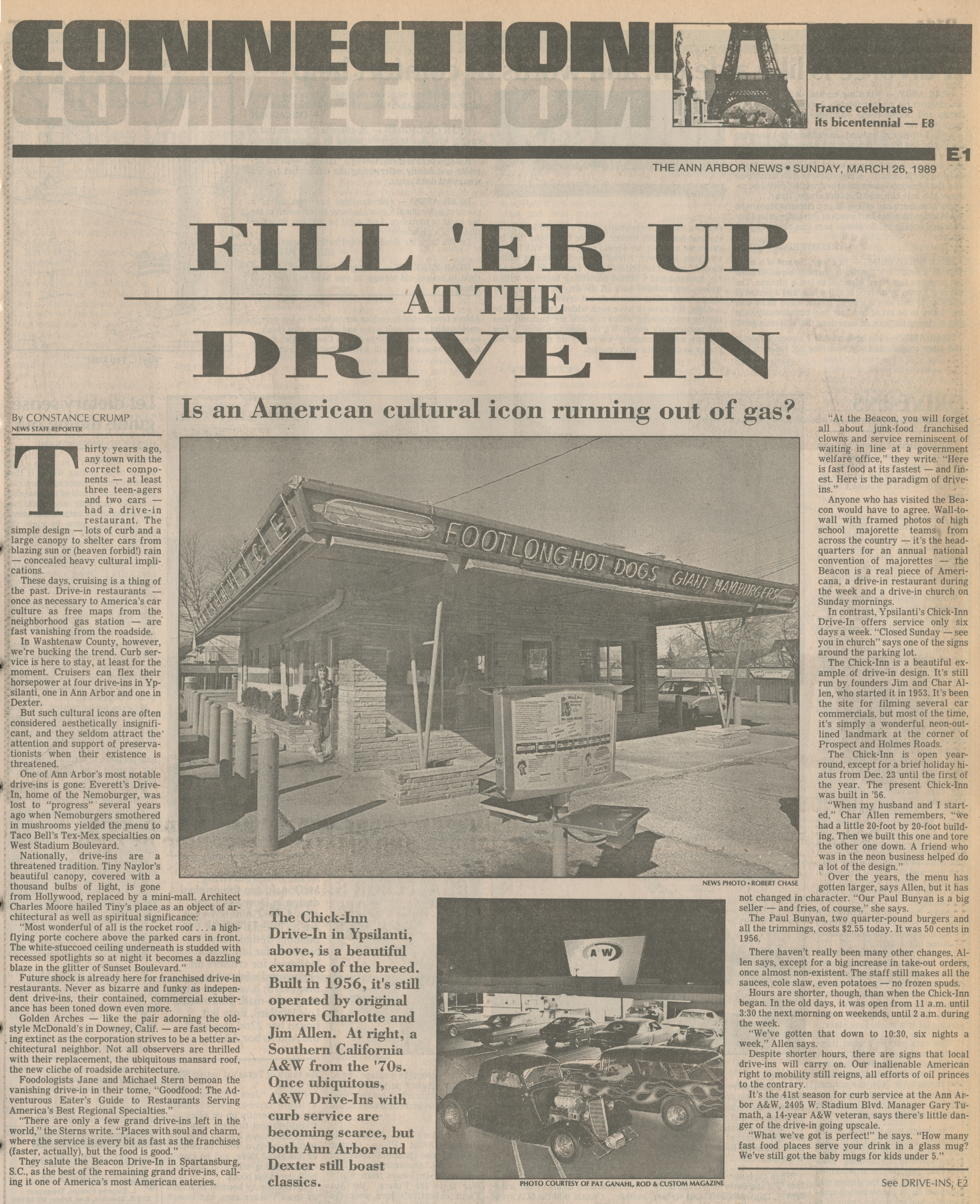 Fill 'Er Up At The Drive-In image