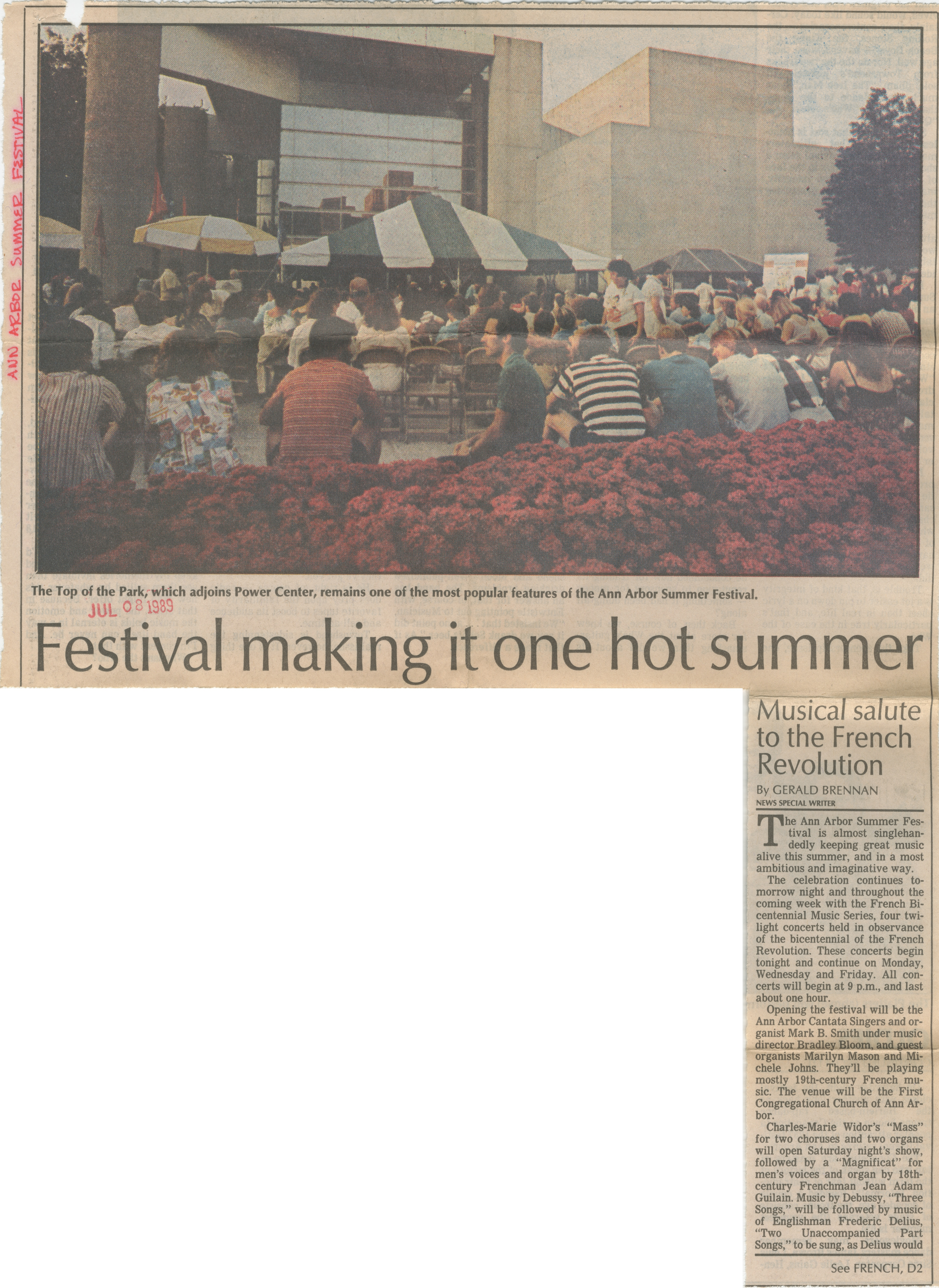 Festival making it one hot summer image