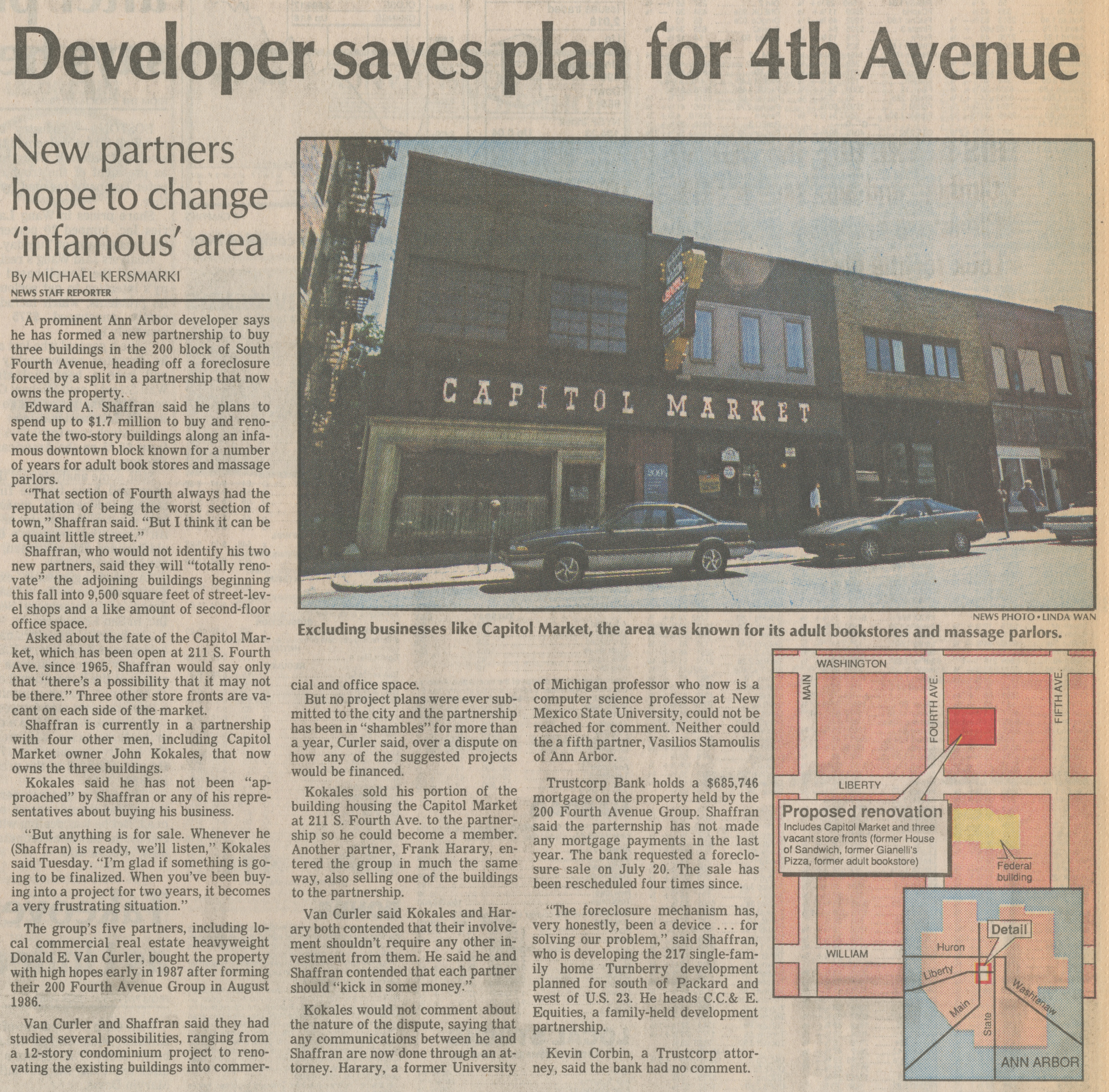 Developer Saves Plan For 4th Avenue image