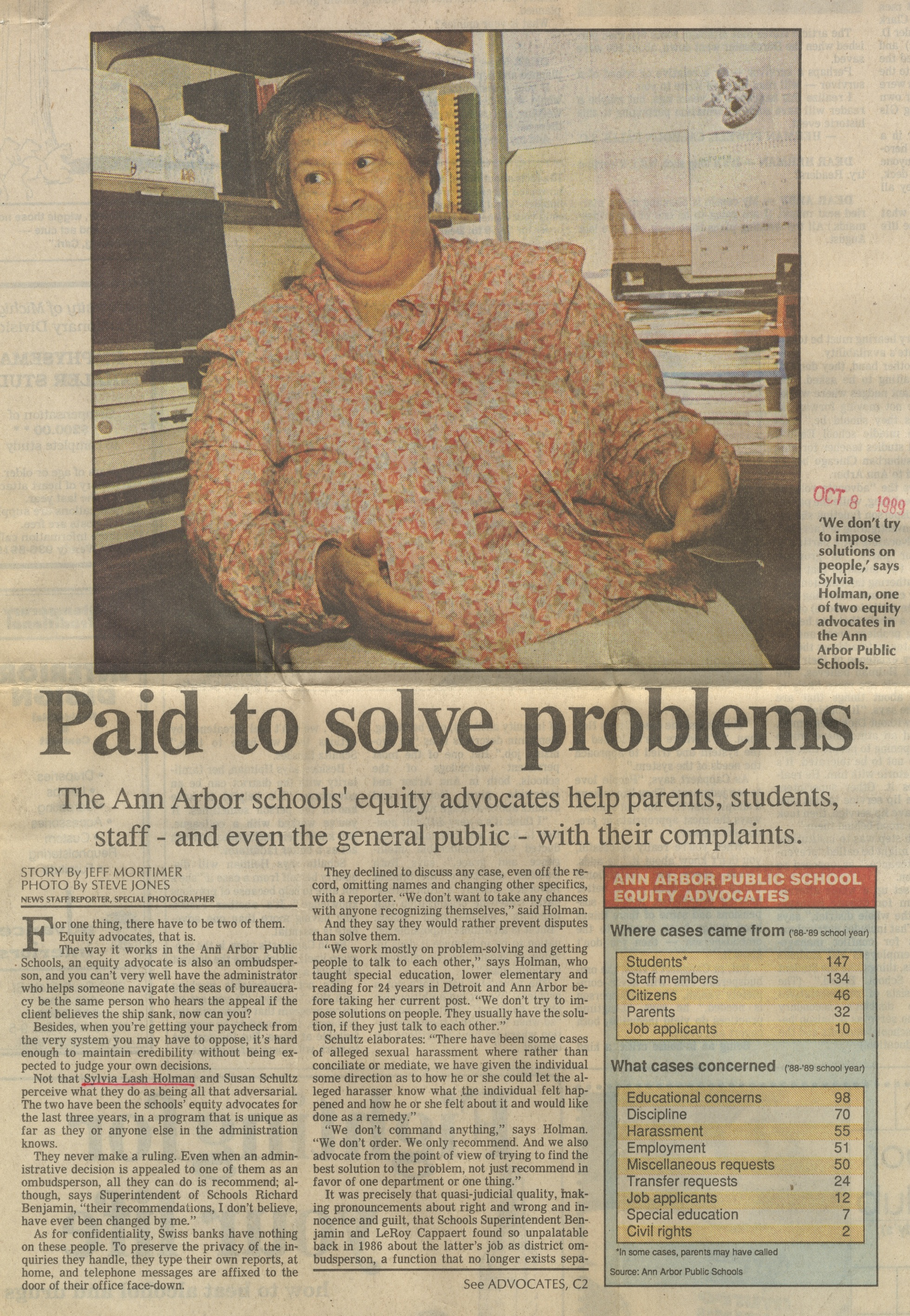 Paid To Solve Problems image