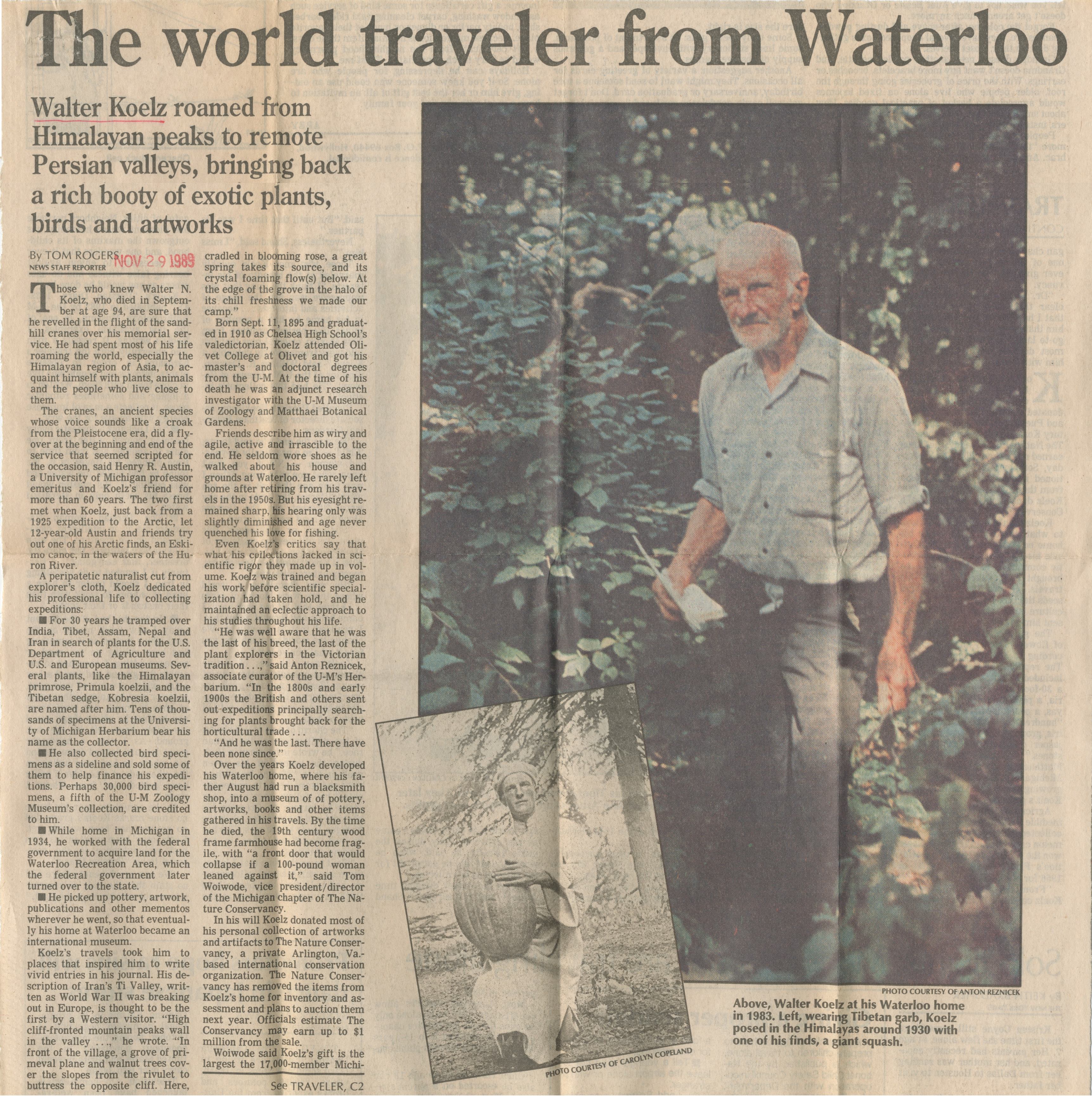The world traveler from Waterloo image
