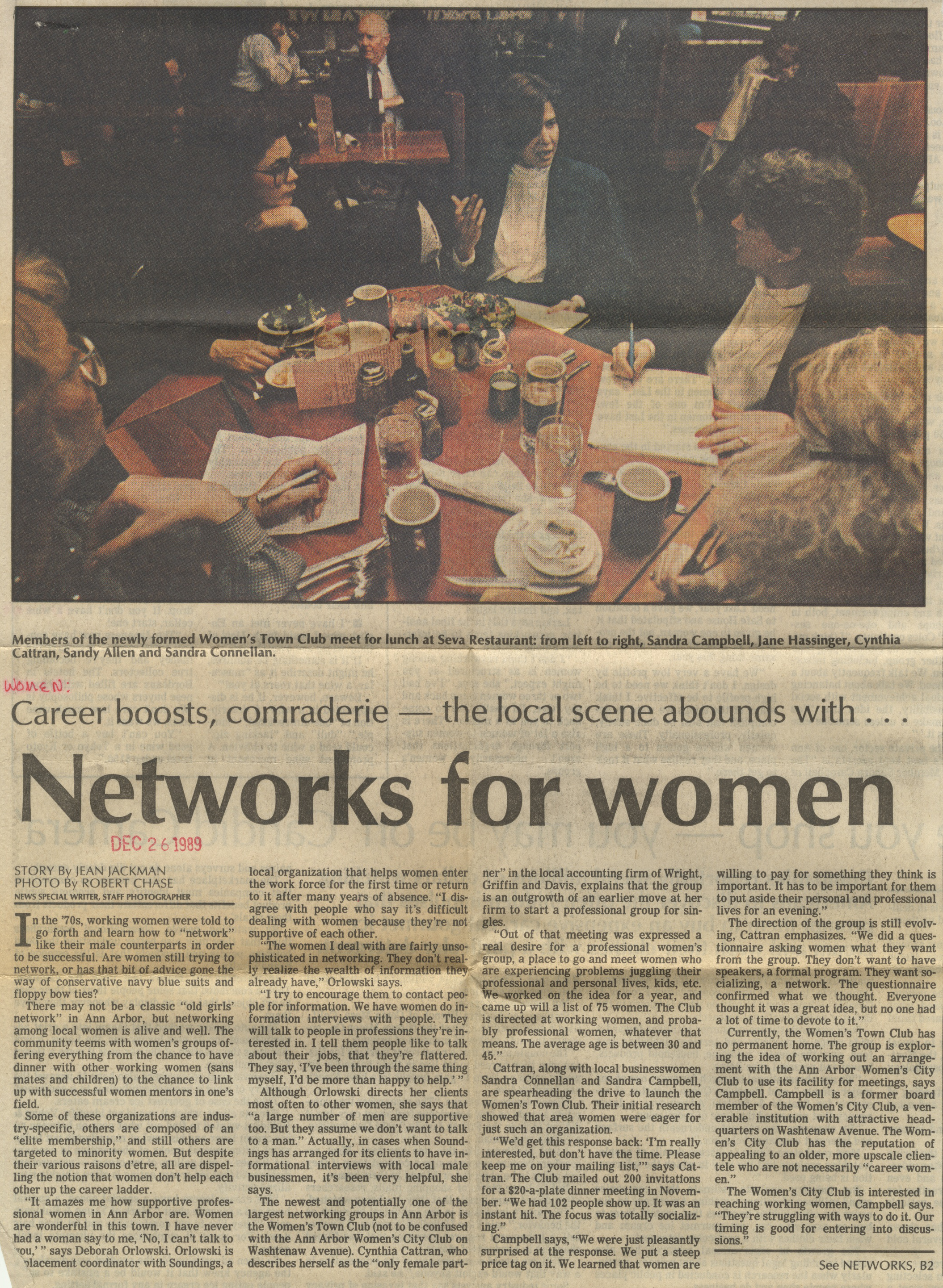Networks For Women image