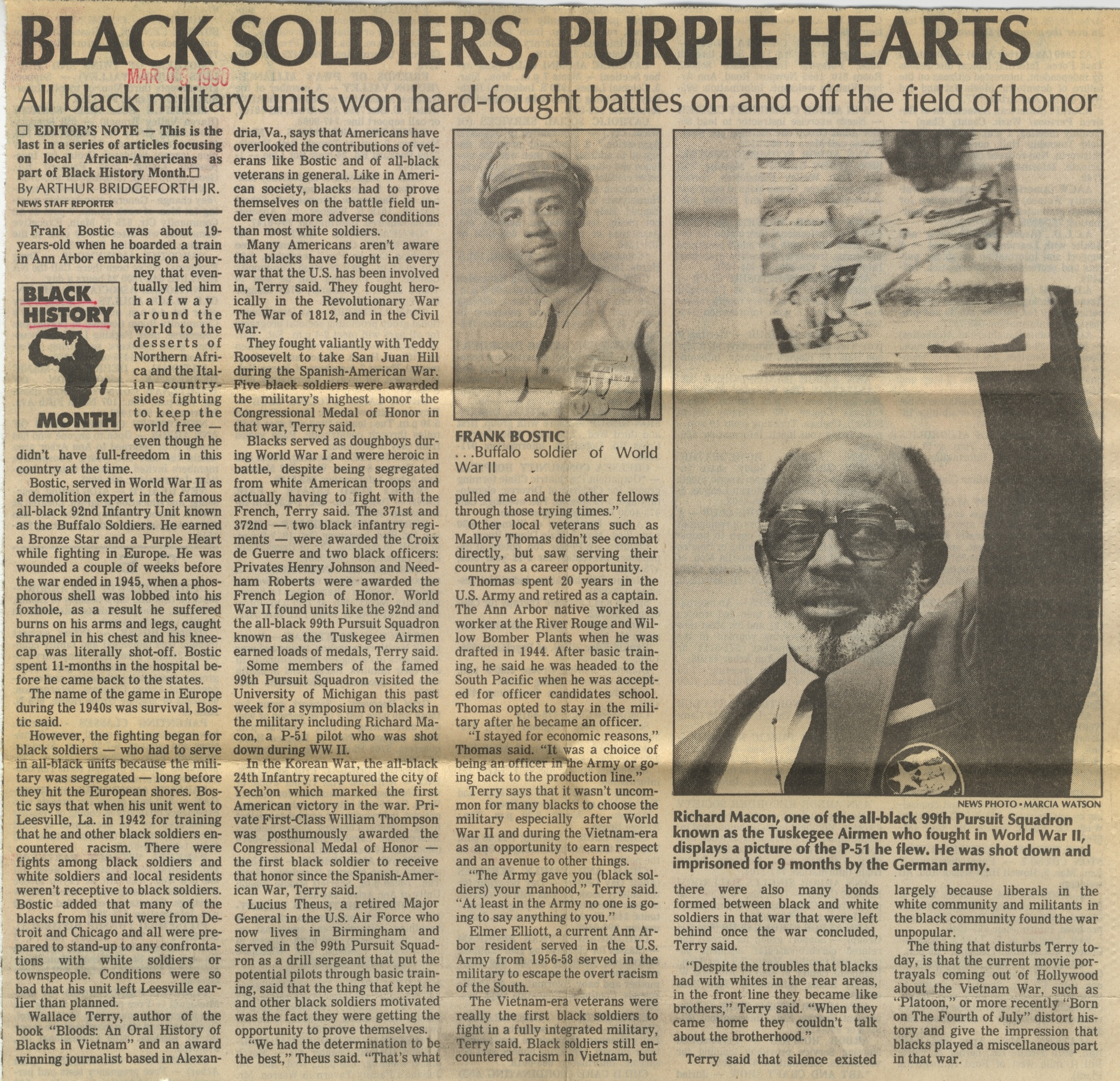 Black Soldiers, Purple Hearts image