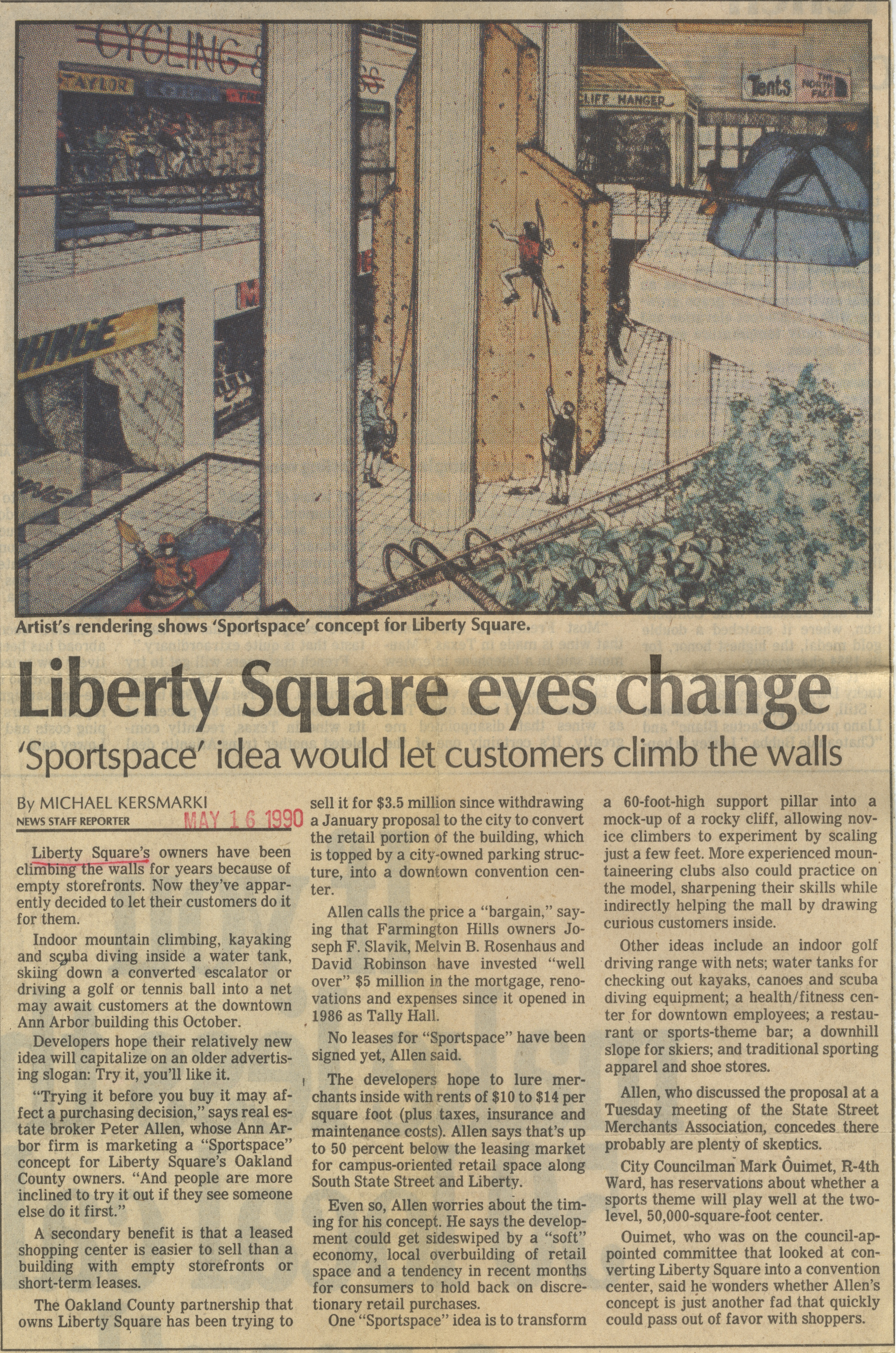 Liberty Square Eyes Change image