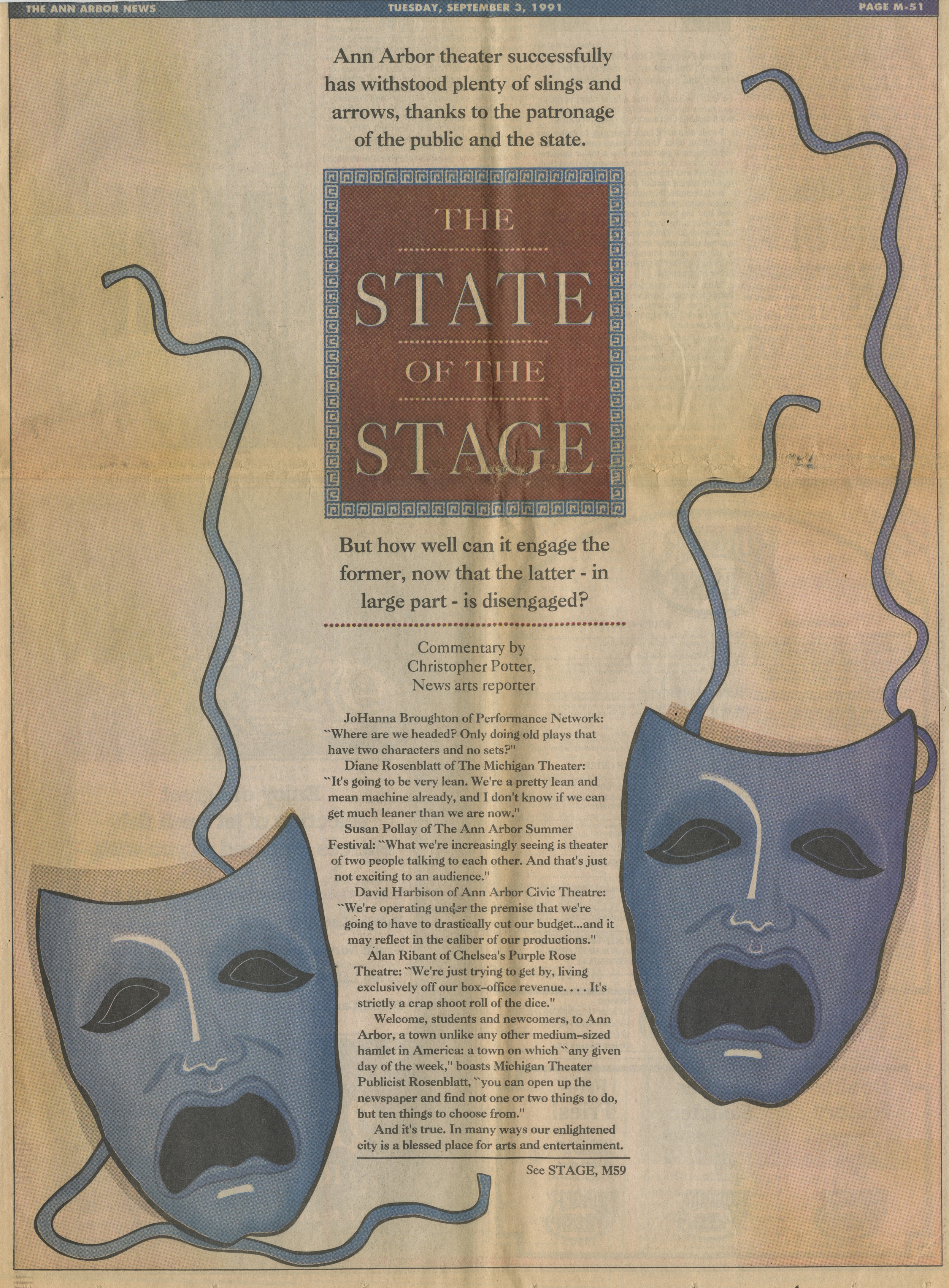 The State Of The Stage image