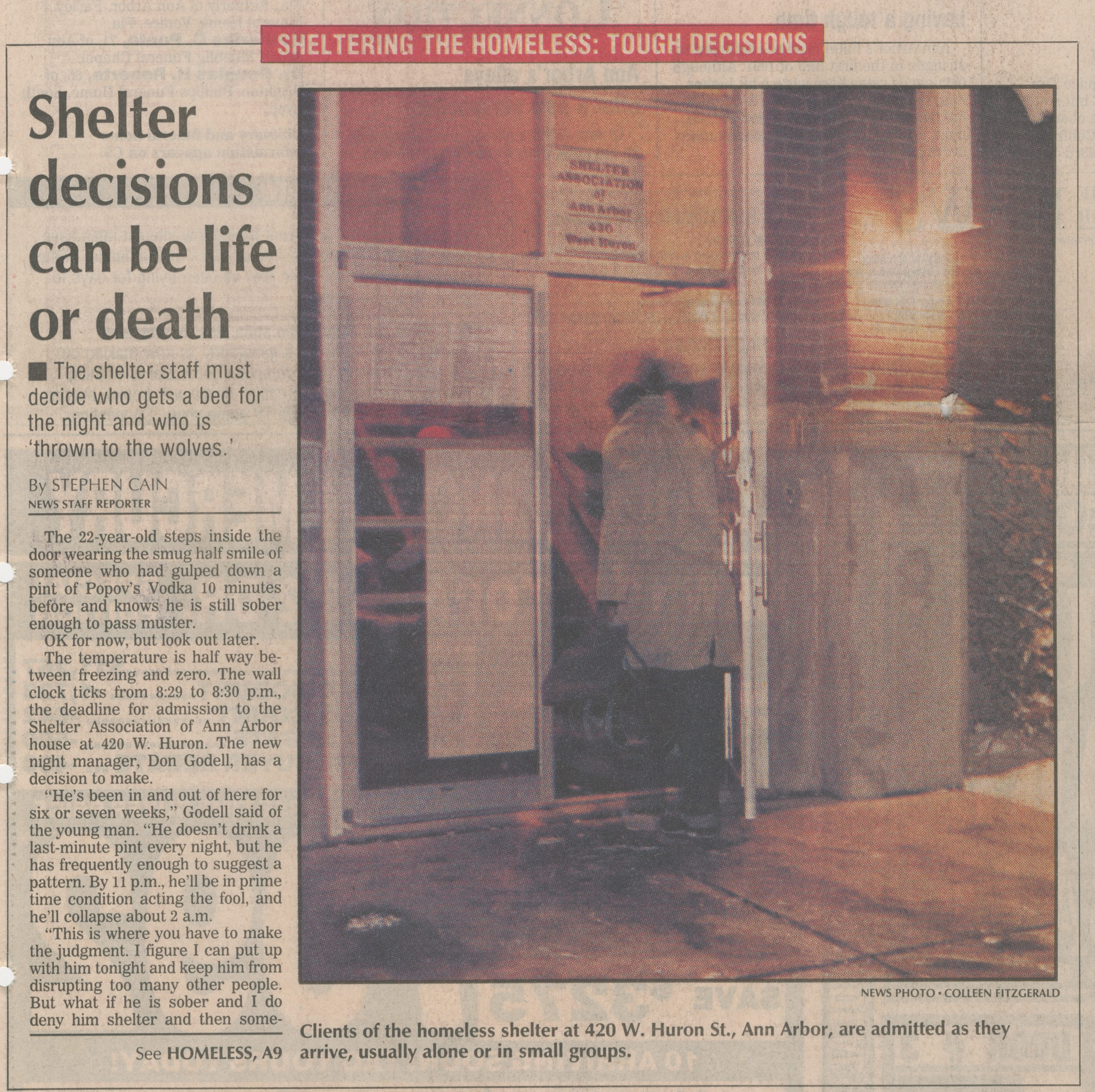 Shelter Decisions Can Be Life or Death image