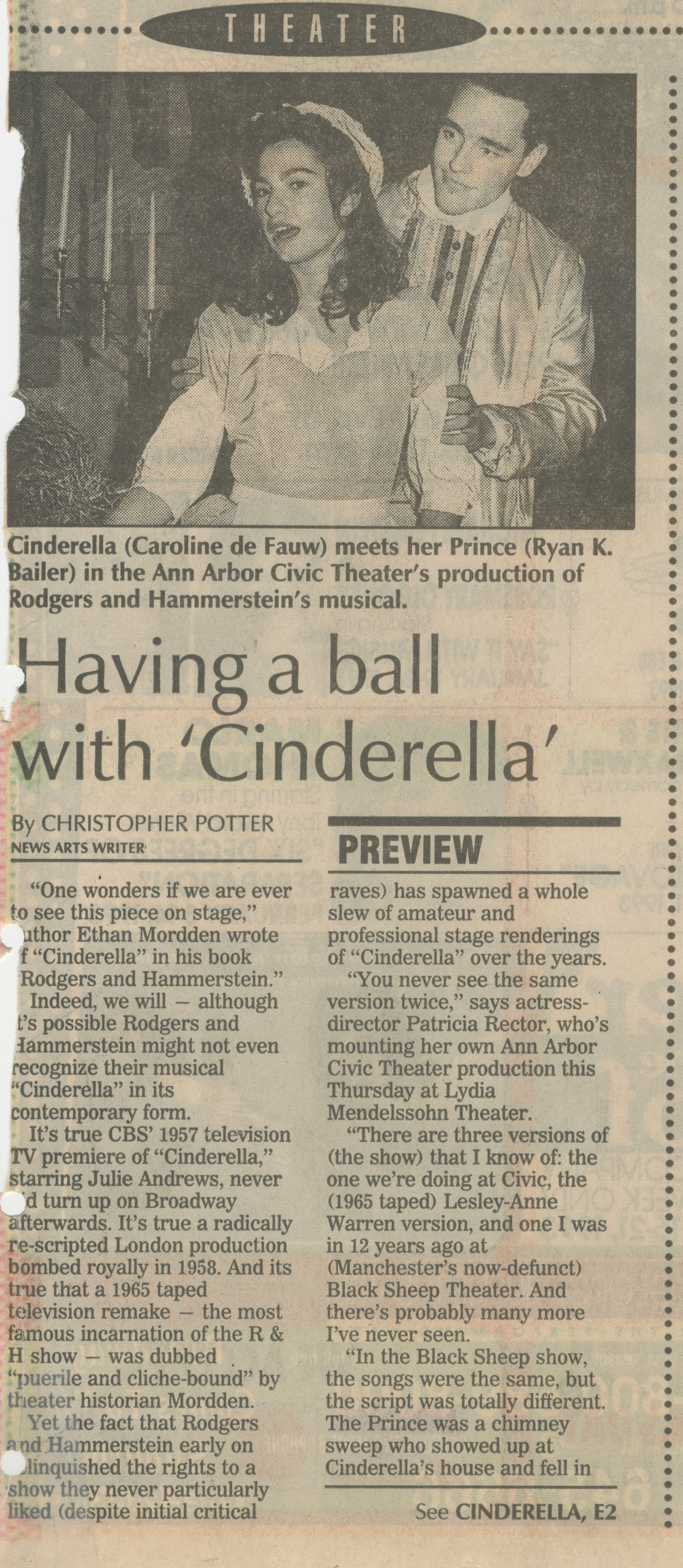 Having A Ball With 'Cinderella' image