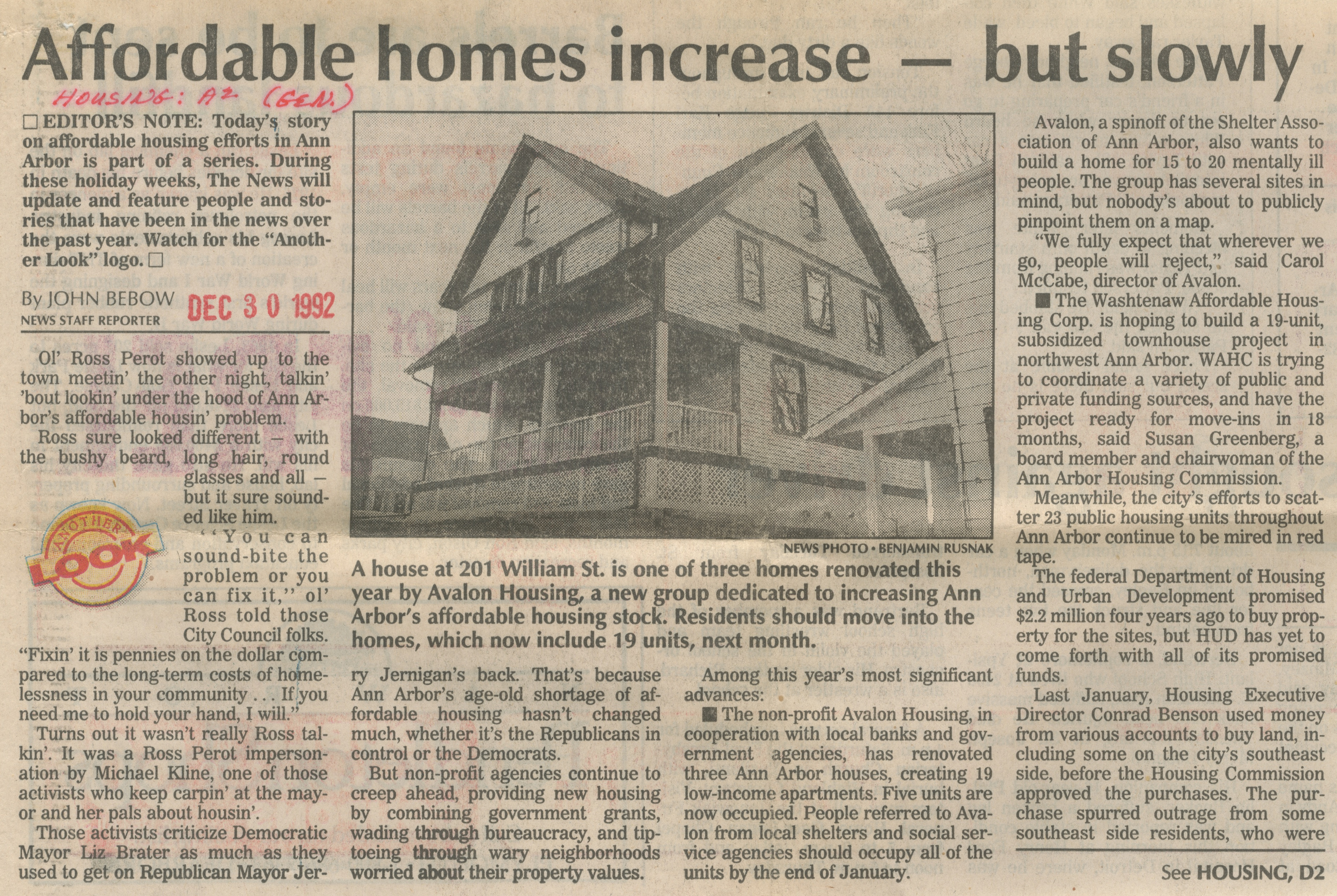 Affordable Homes Increase - But Slowly image