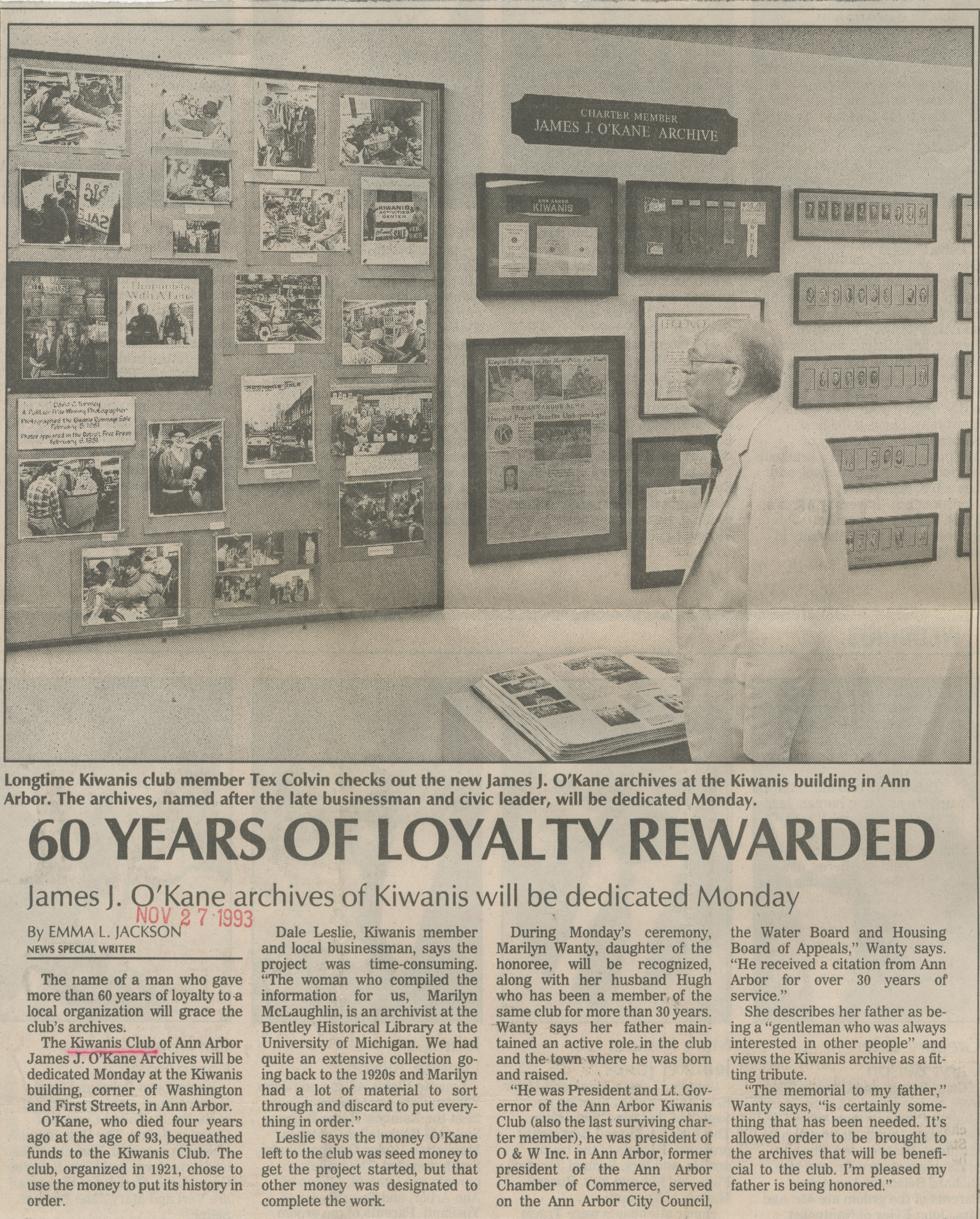 60 Years Of Loyalty Rewarded image