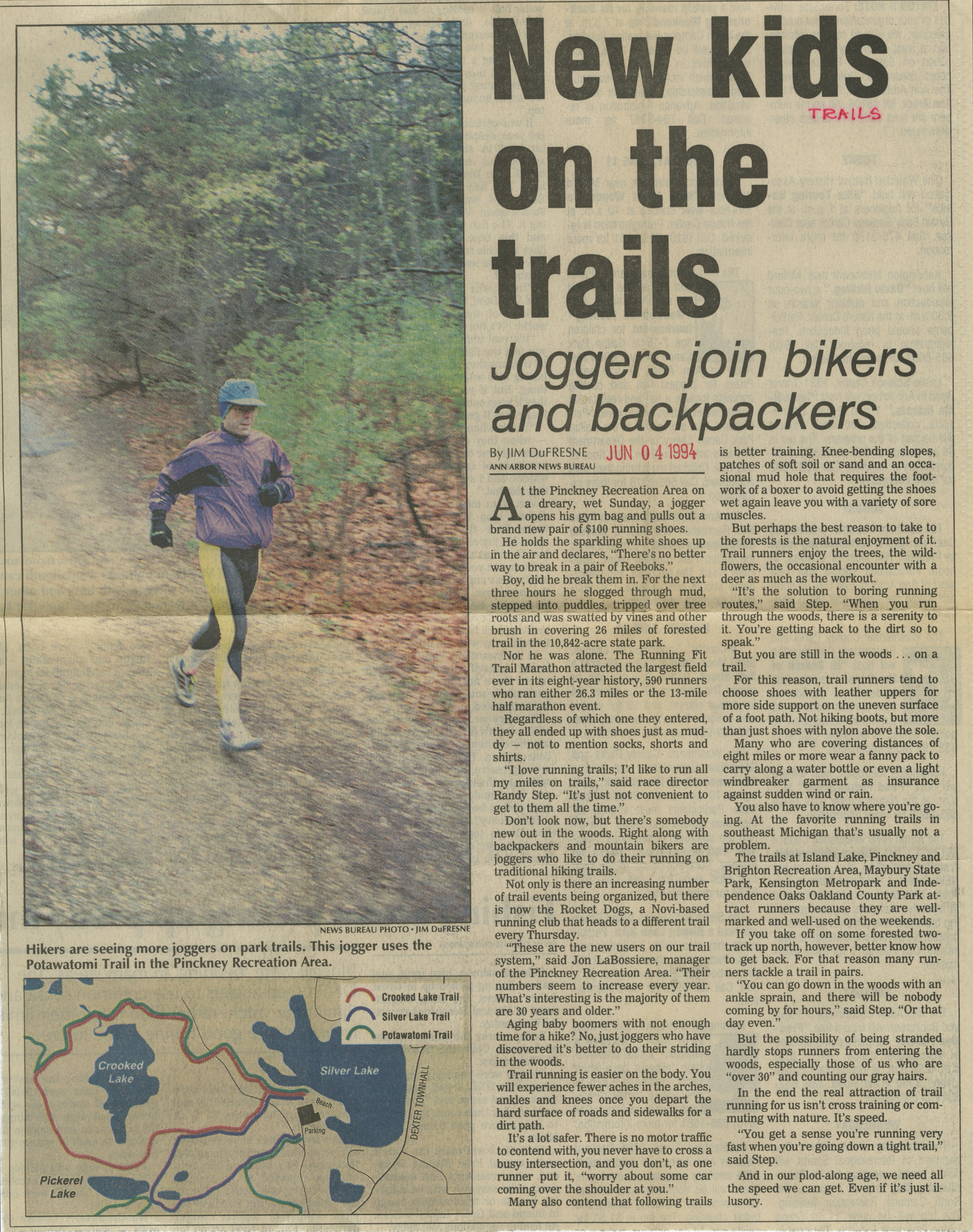 New kids on the trails image