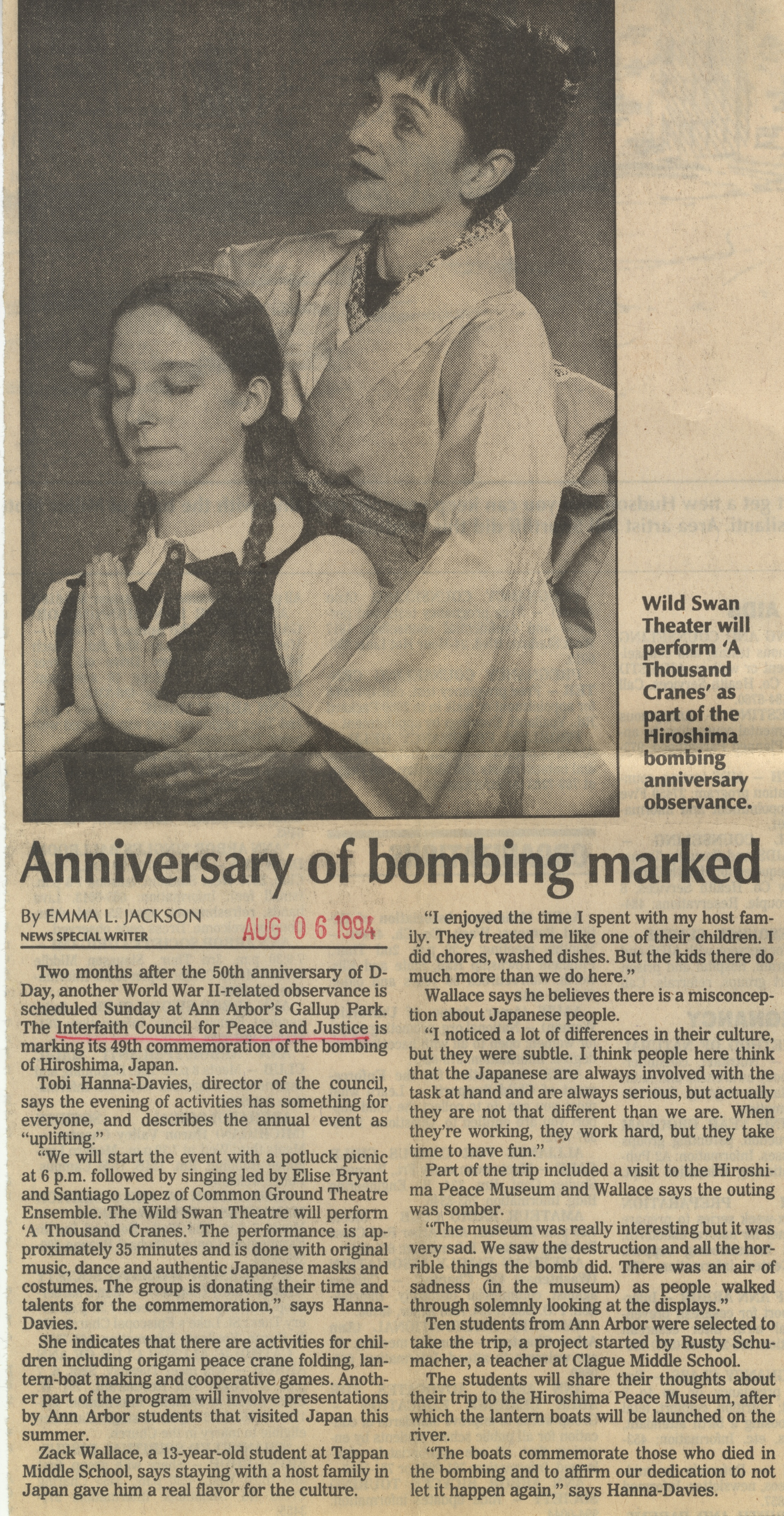 Anniversary Of Bombing Marked image