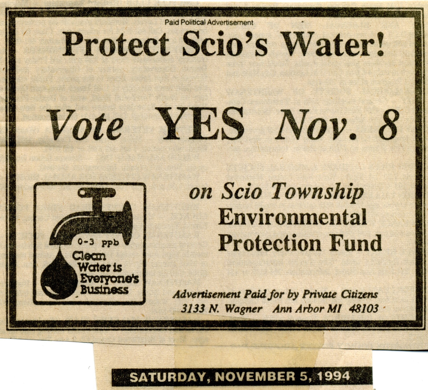 Protect Scio's Water! image