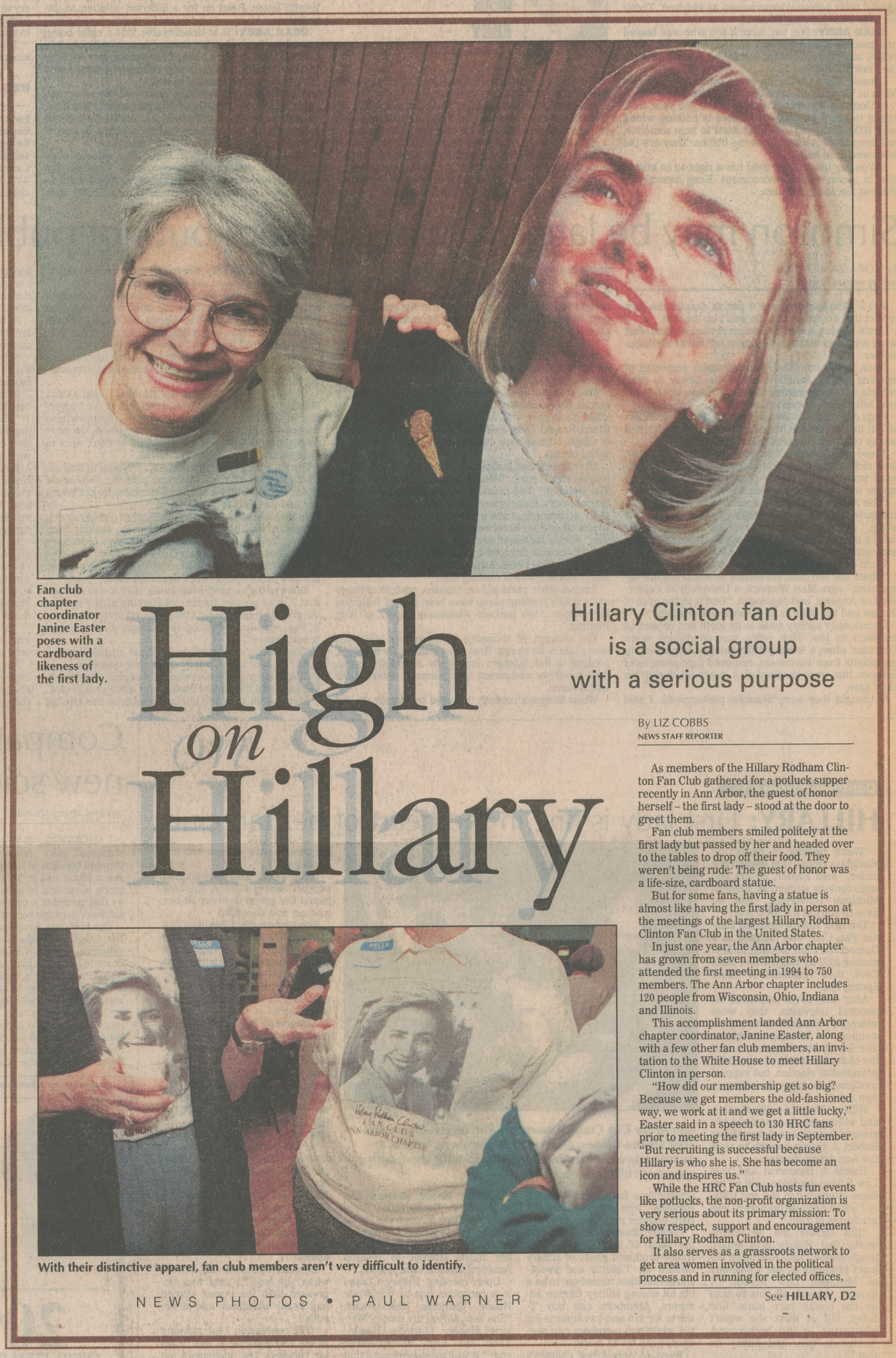 High On Hillary image