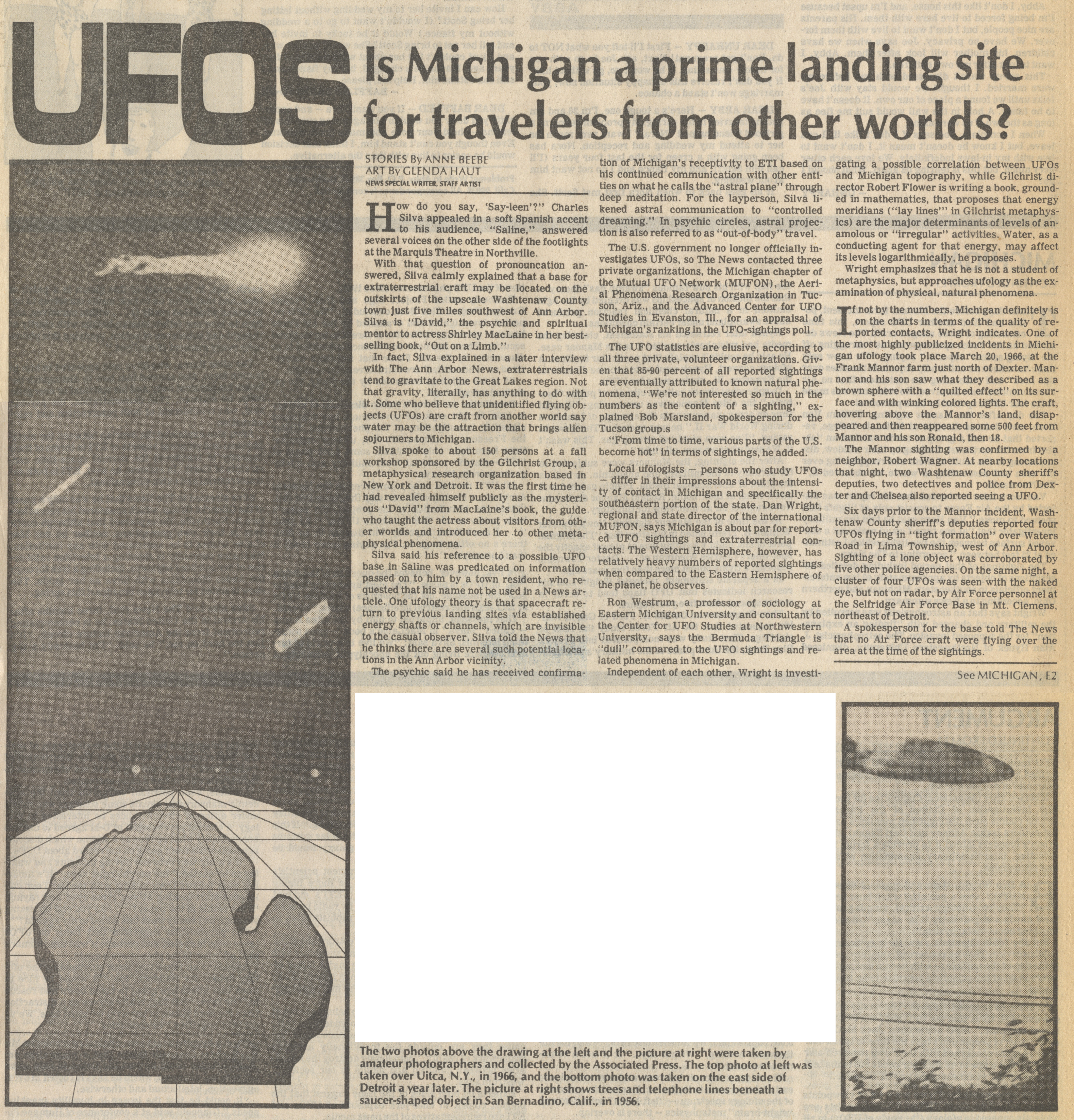 UFOs: Is Michigan a Prime Landing Site for Travelers From Other Worlds? image