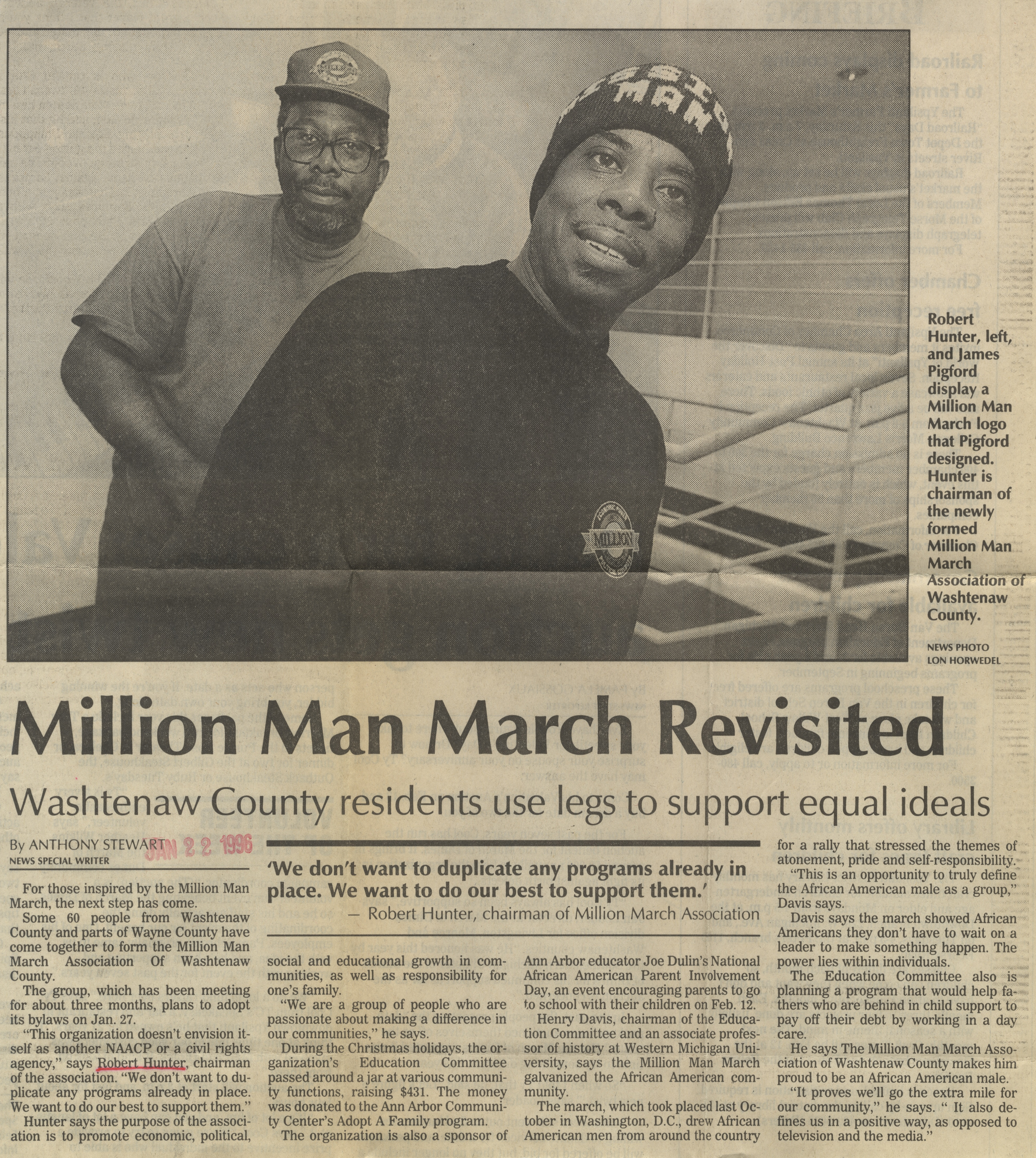 Million Man March Revisited image