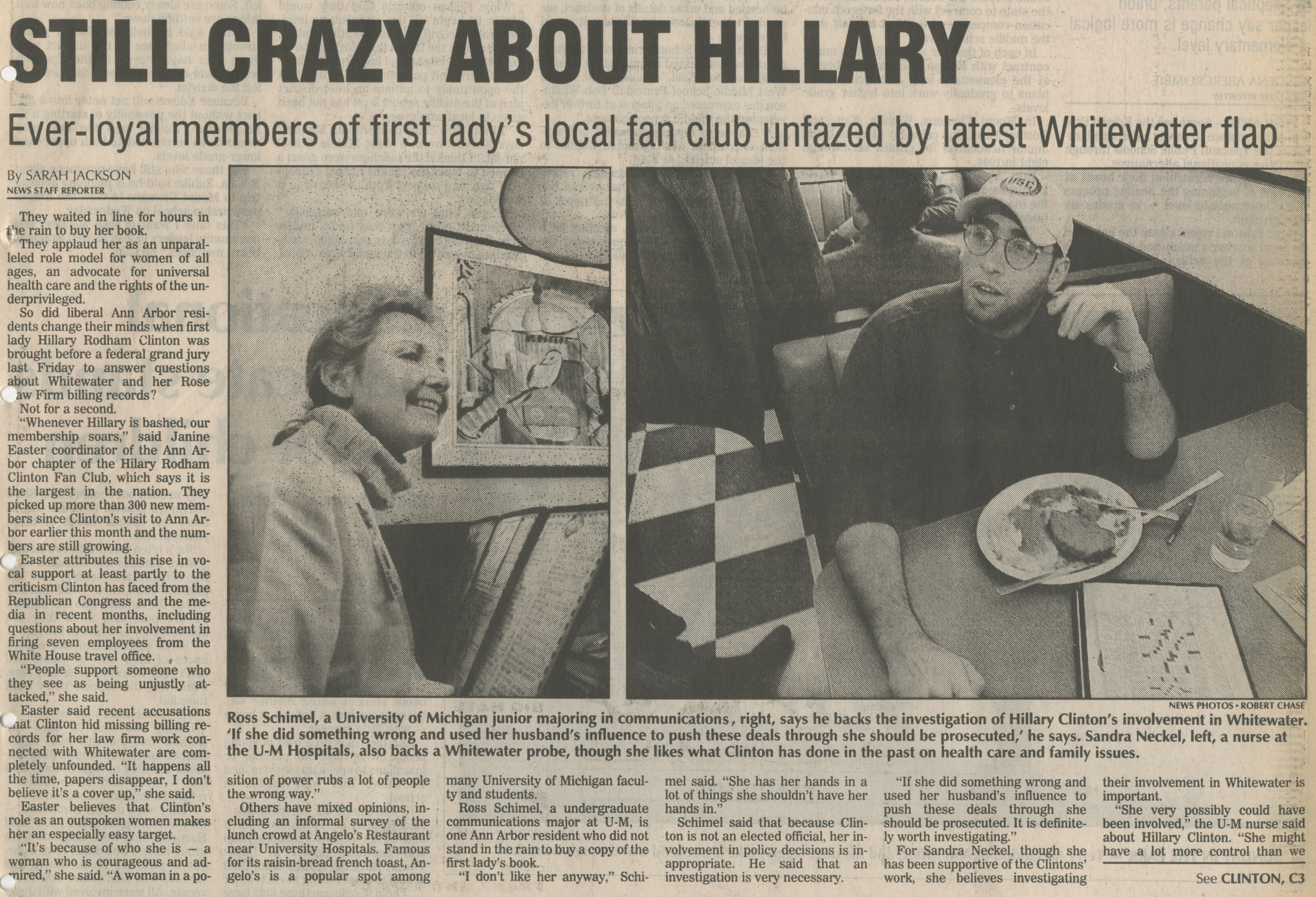 Still Crazy About Hillary image
