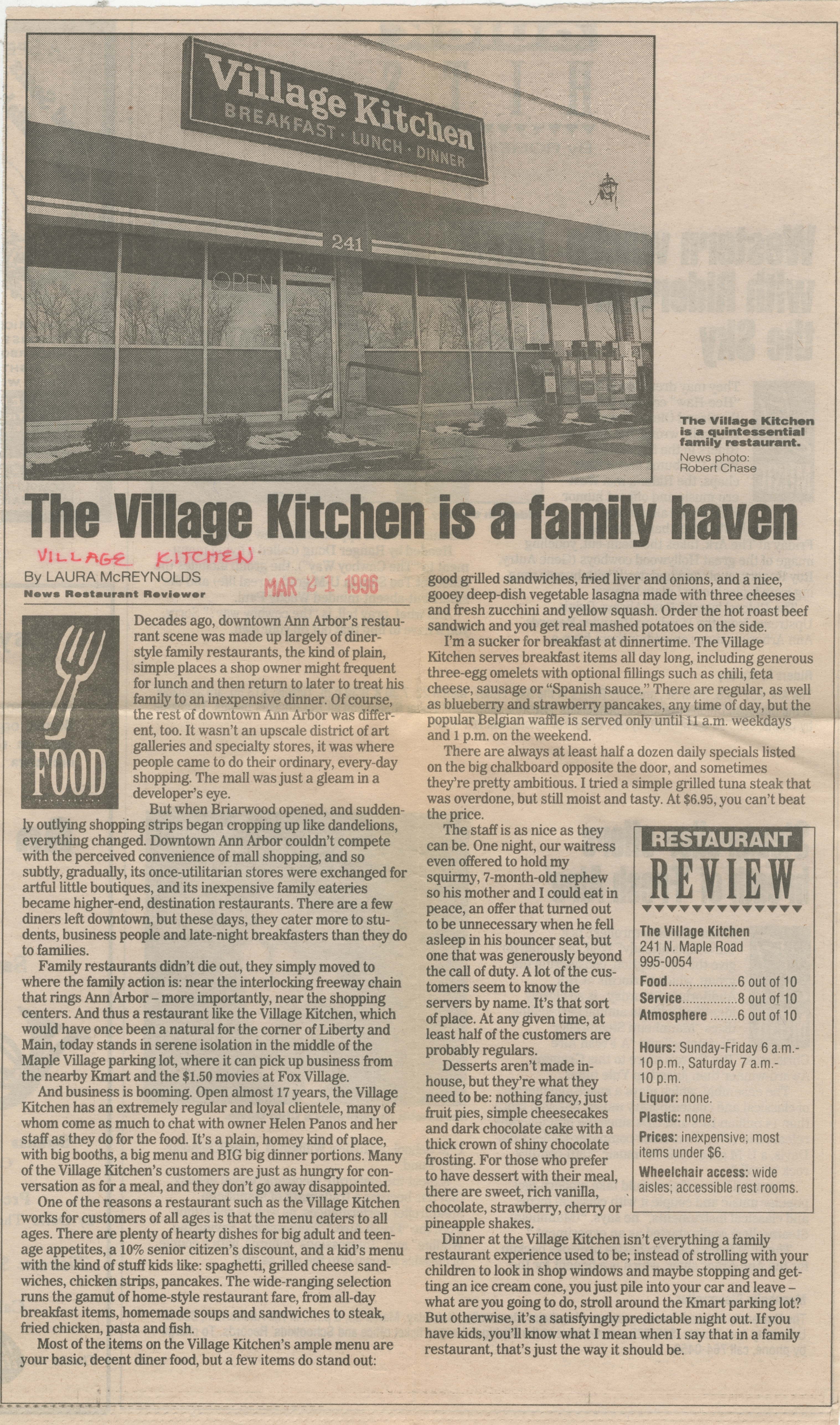 The Village Kitchen Is A Family Haven image