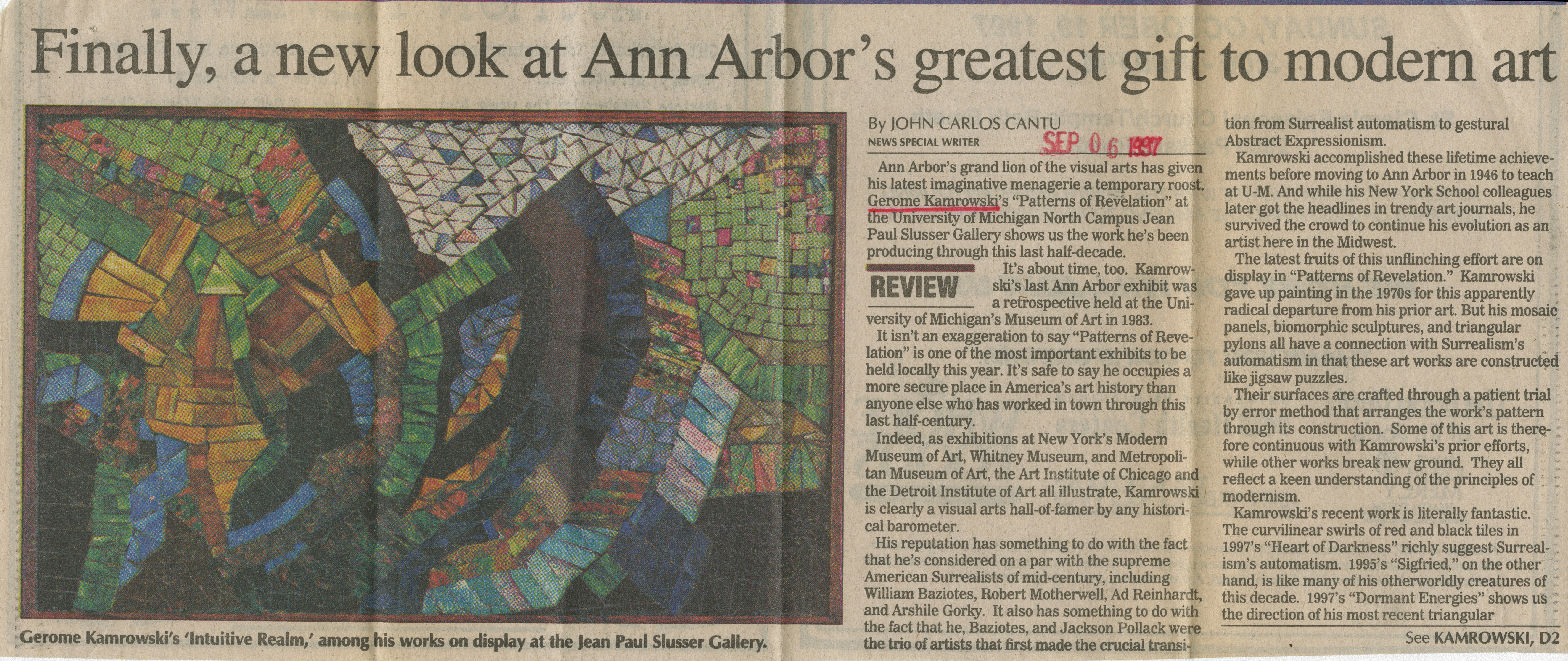 Finally, a new look at Ann Arbor's greatest gift to modern art image