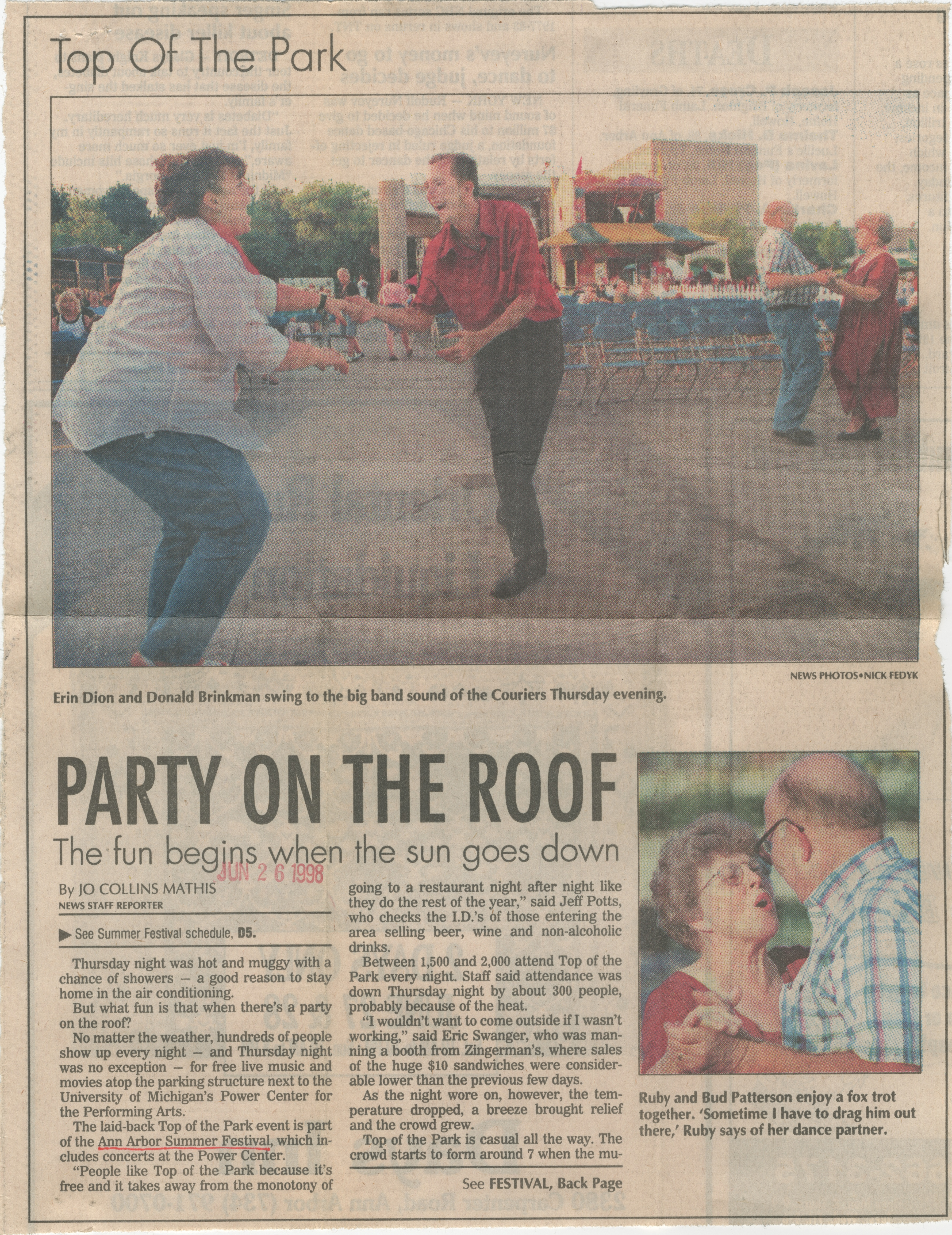 PARTY ON THE ROOF image