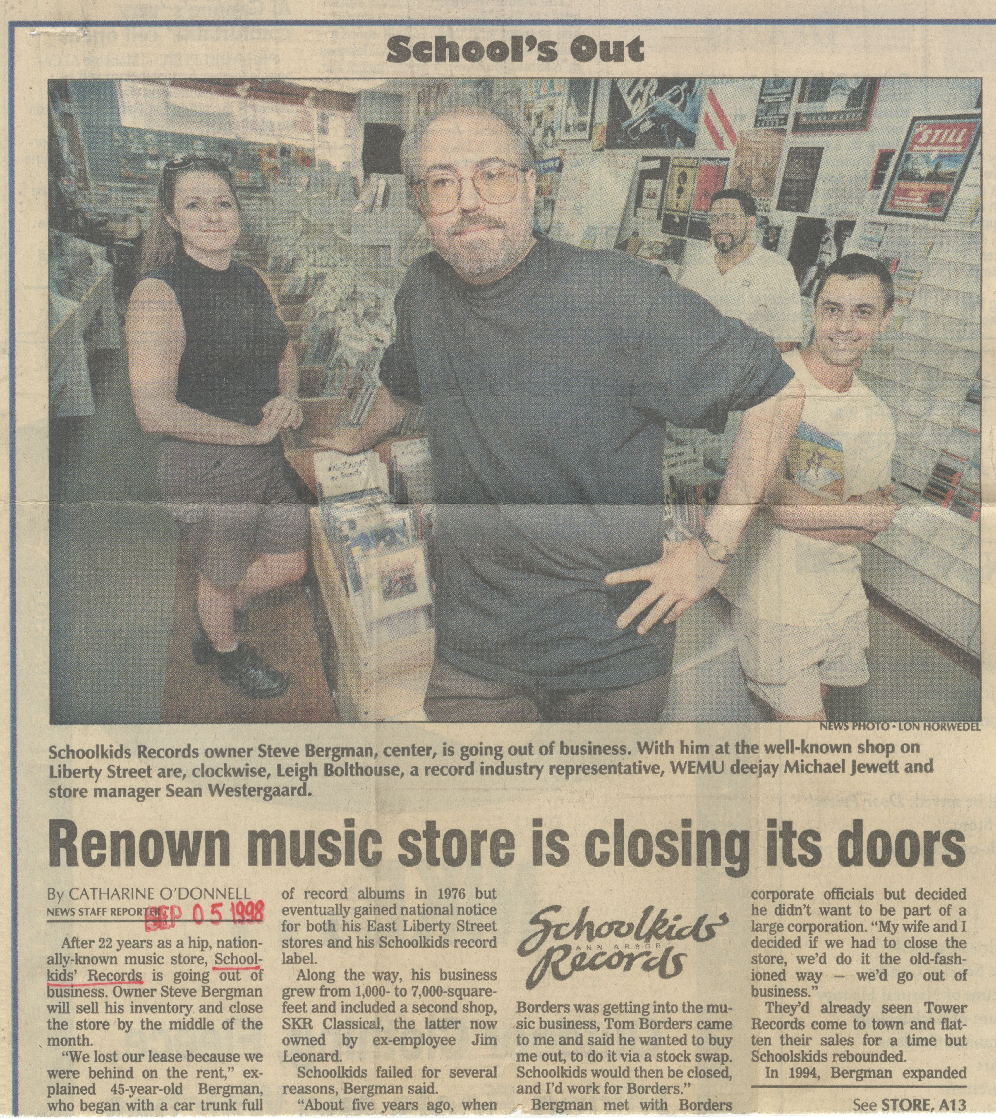 Renown Music Store Is Closing Its Doors image
