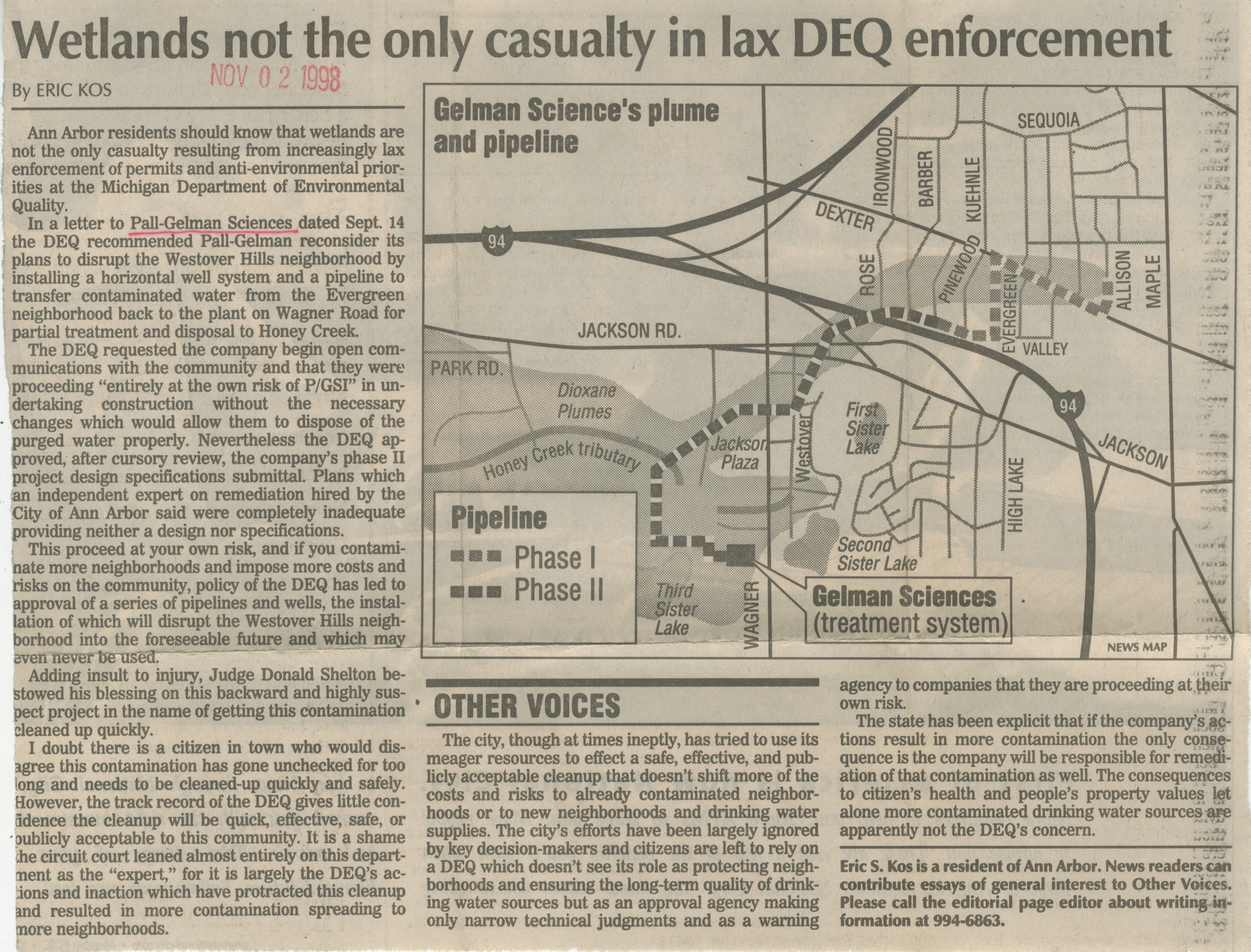 Wetlands Not the Only Casualty in Lax DEQ Enforcement image