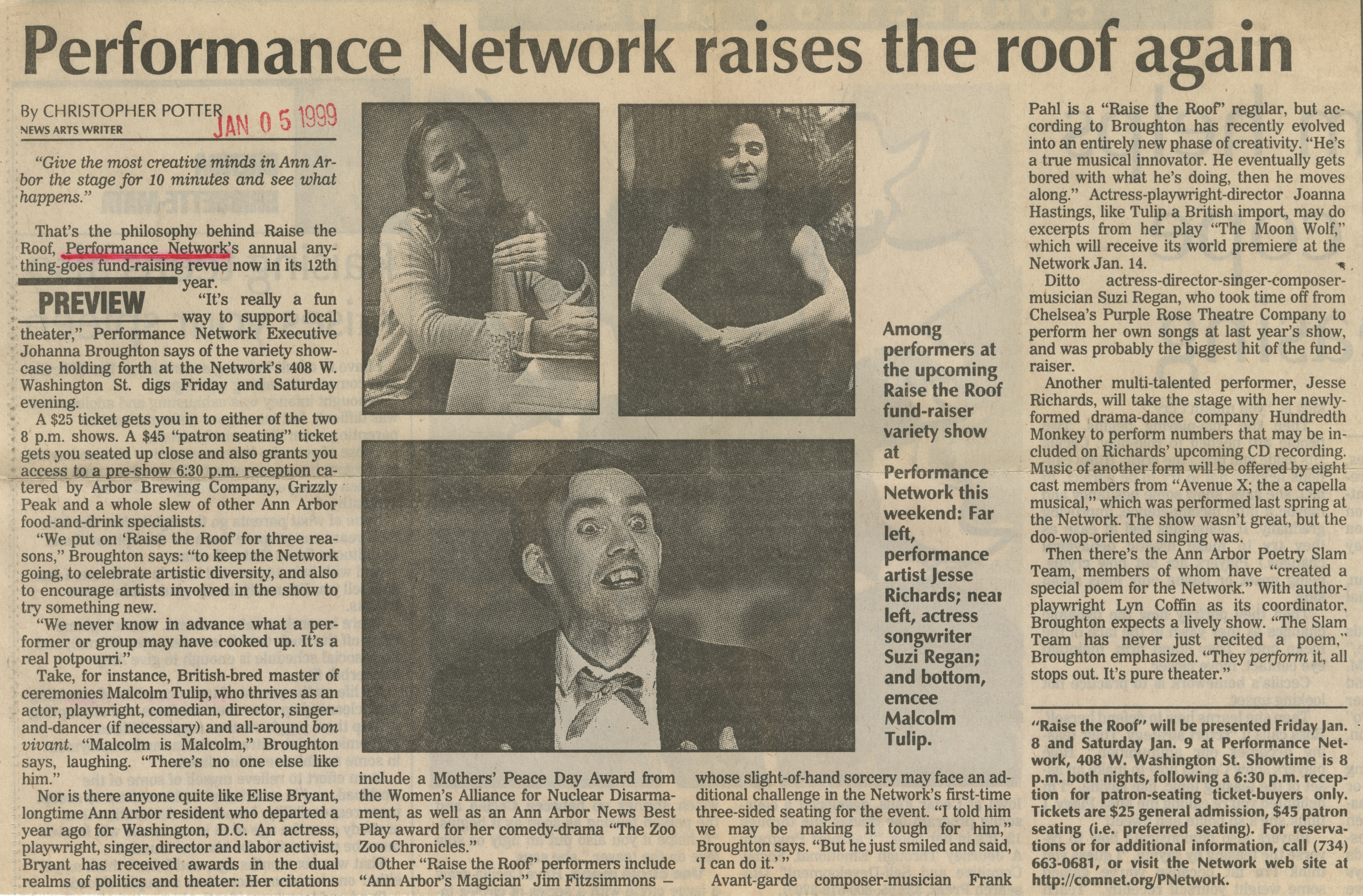 Performance Network raises the roof again image