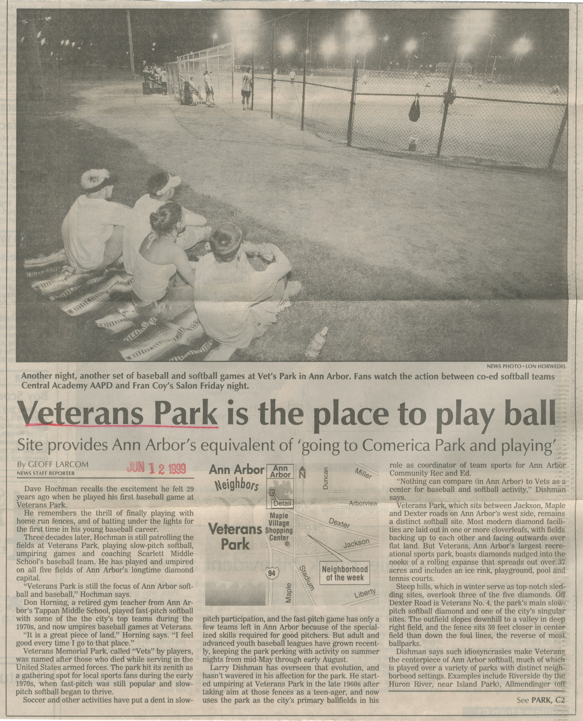 Veterans Park Is The Place To Play Ball image