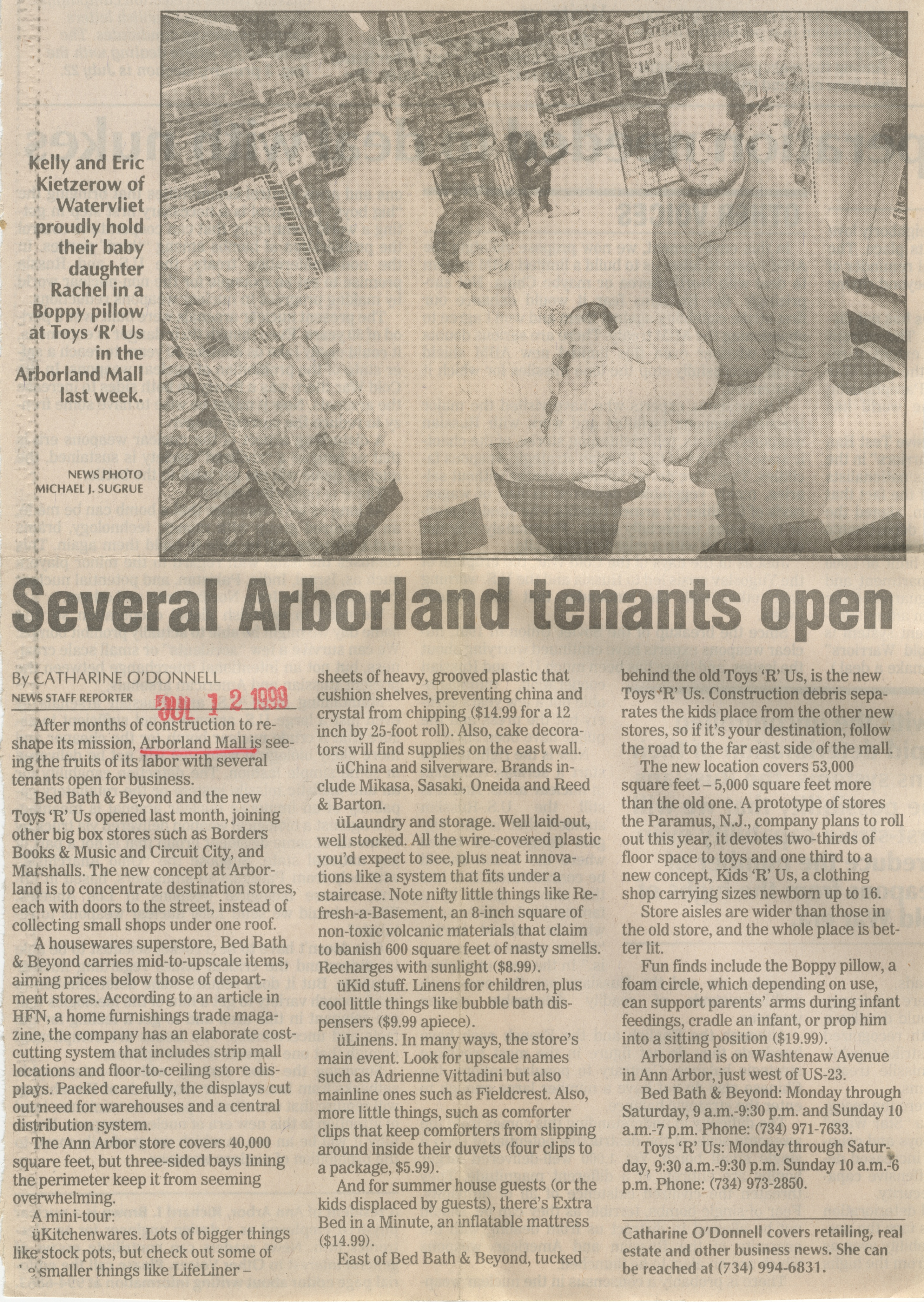 Several Arborland Tenants Open image