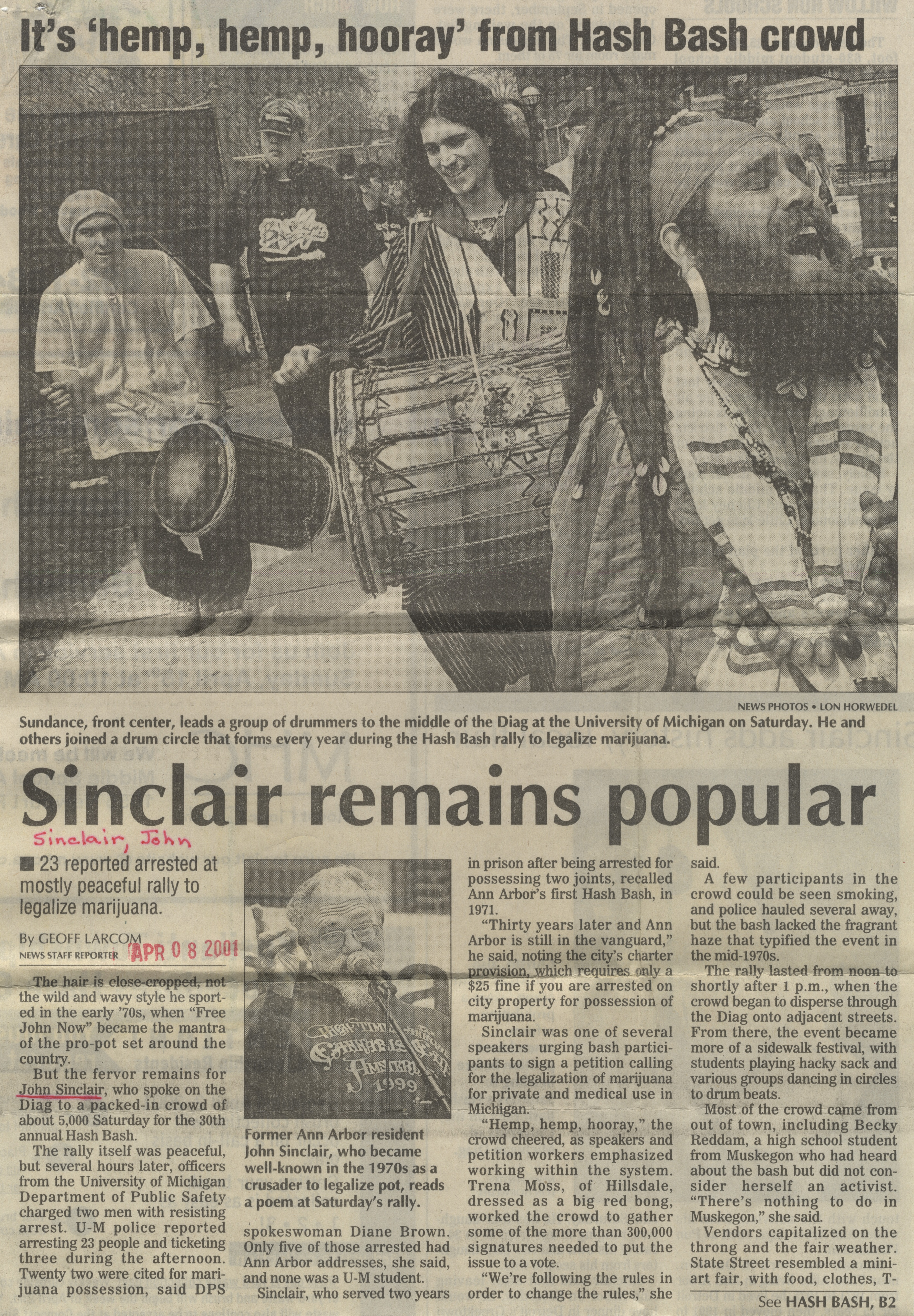 Sinclair Remains Popular image
