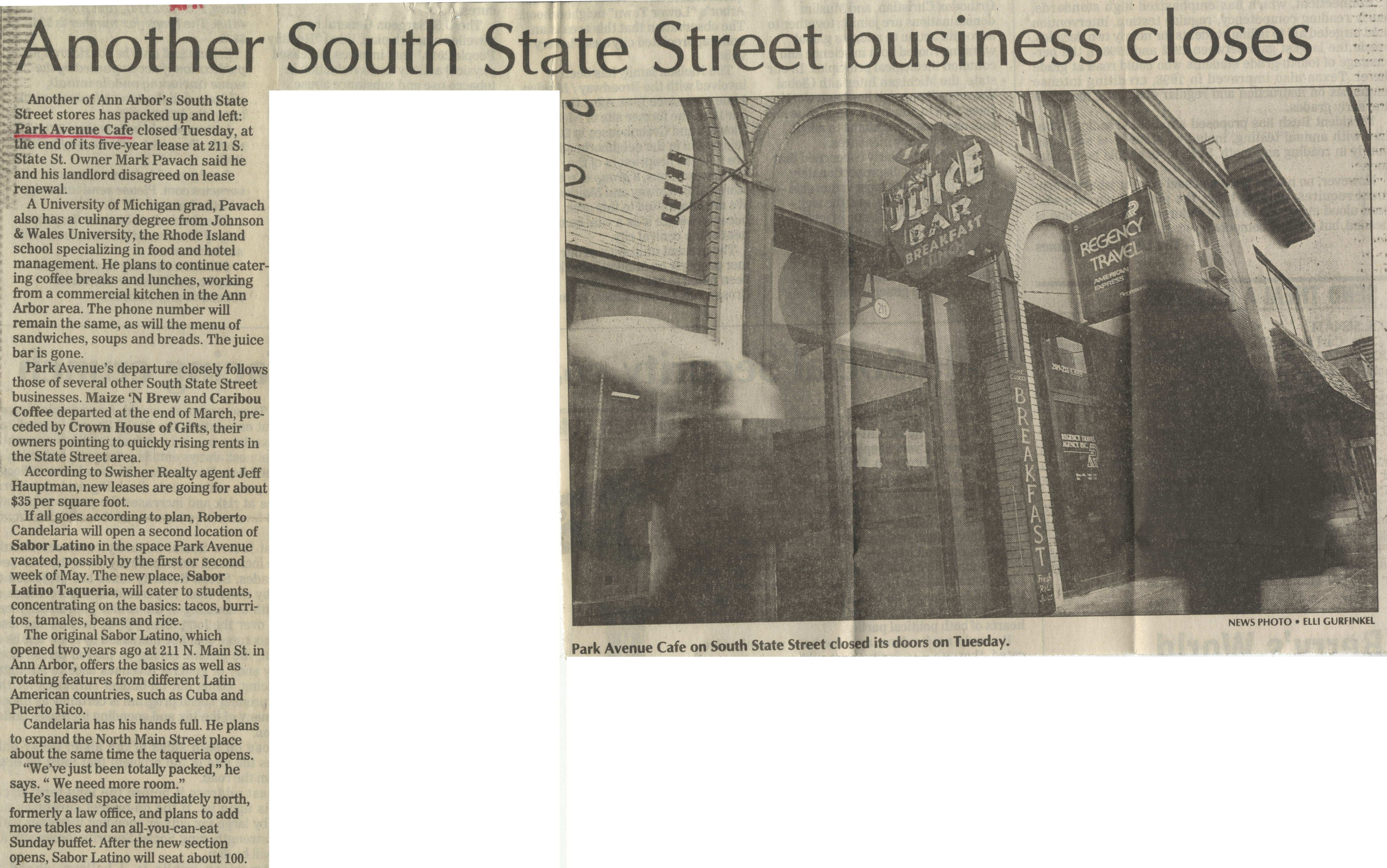 Another South State Street Business Closes image