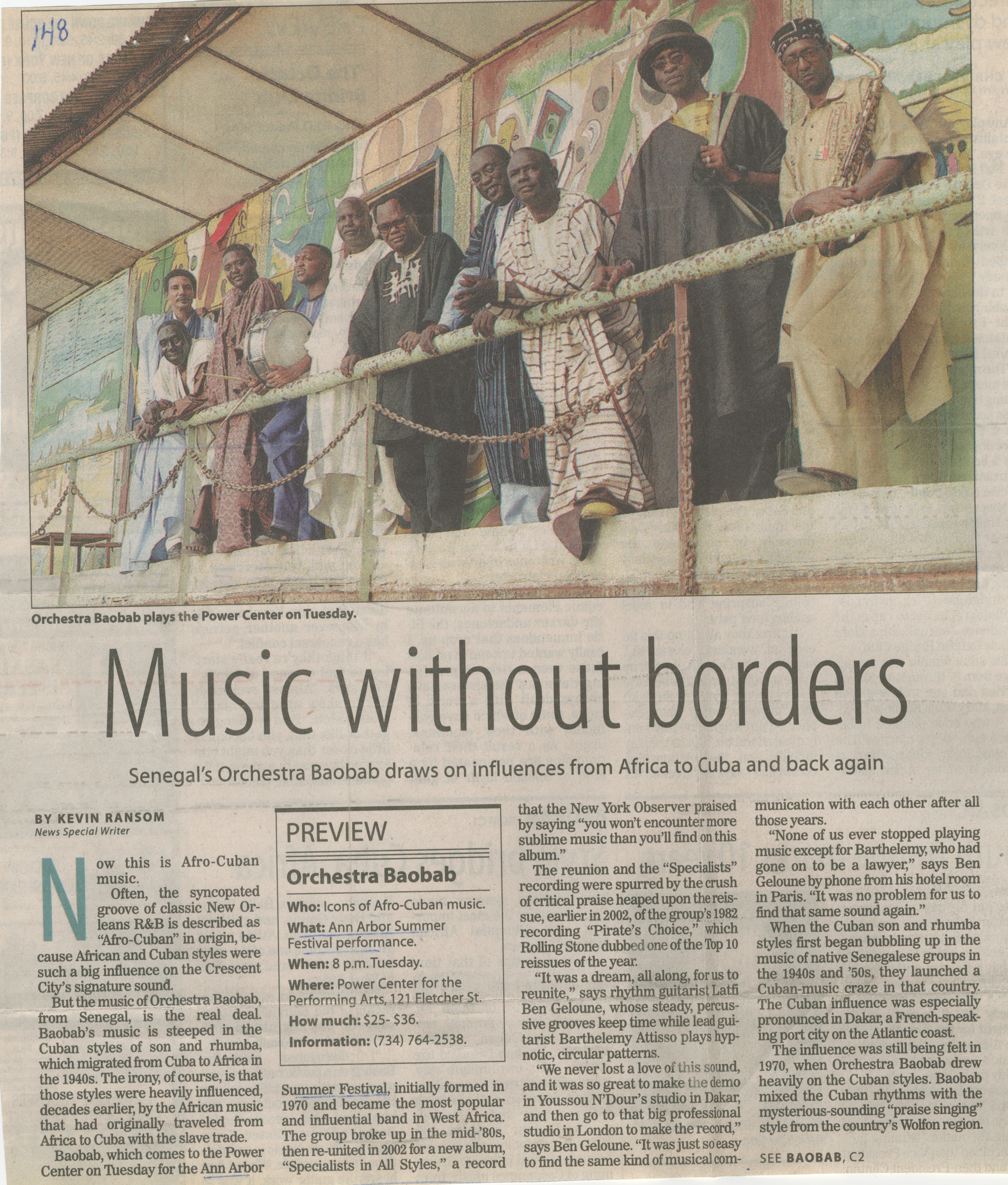 Music without borders image