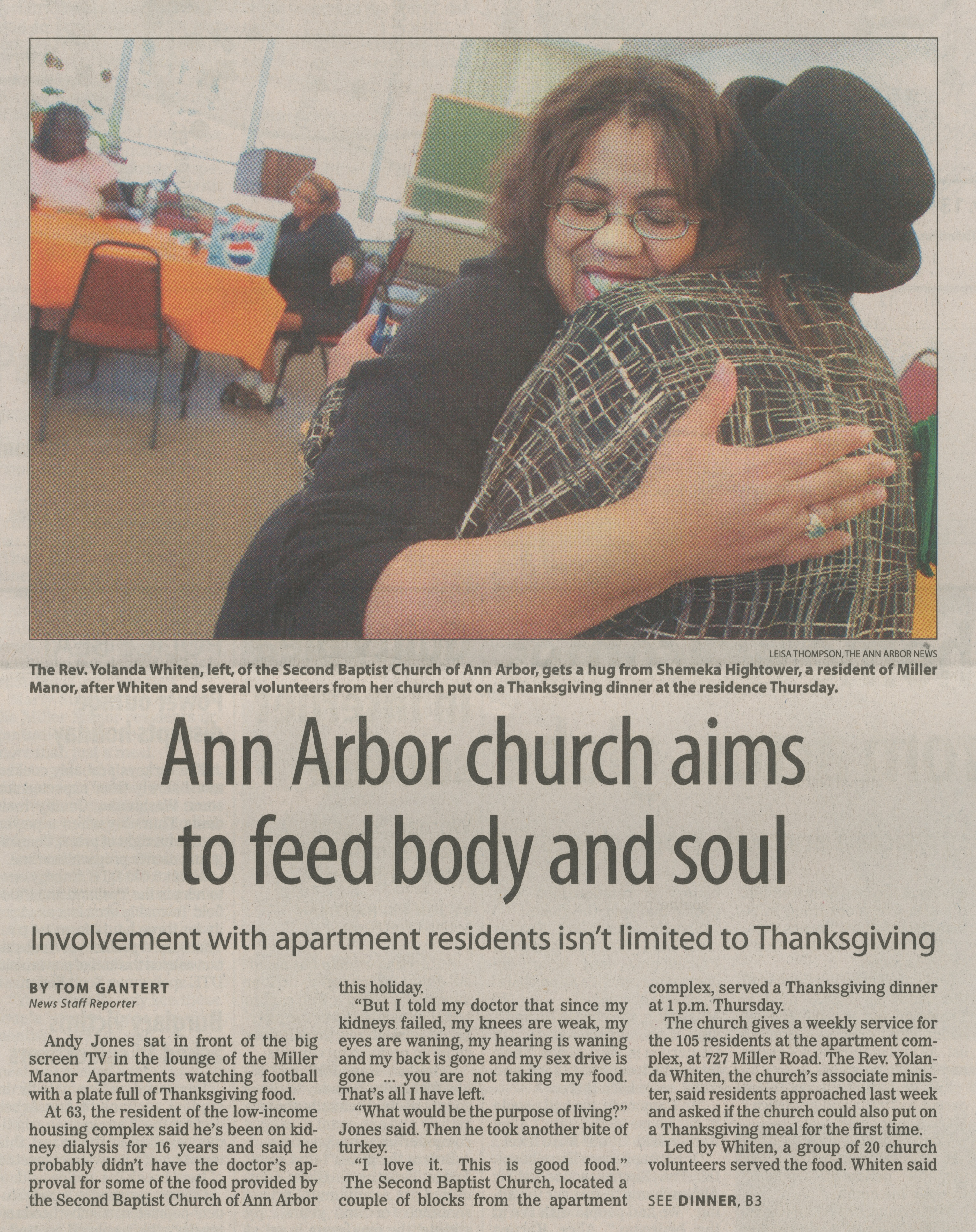 Ann Arbor Church Aims To Feed Body And Soul image