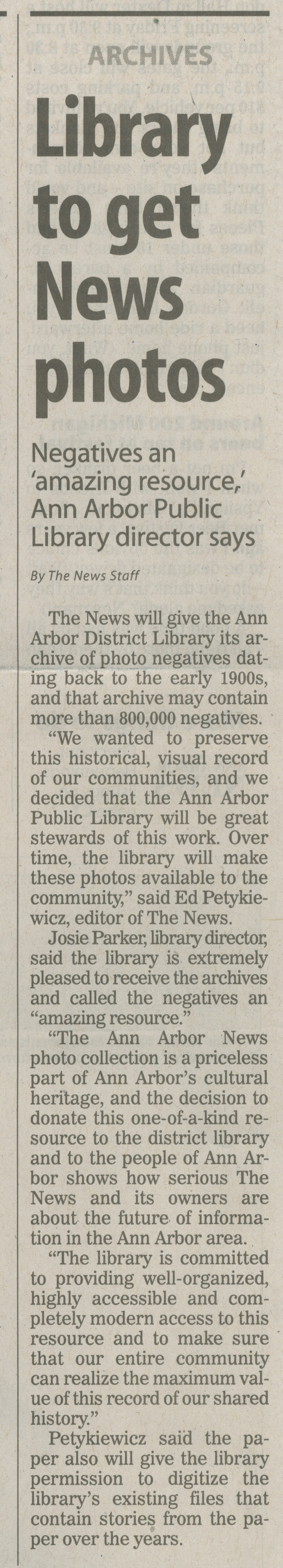 Library To Get News Photos image