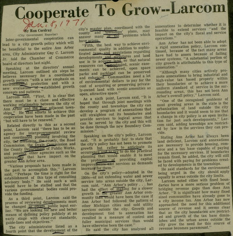 Cooperate To Grow--Larcom image