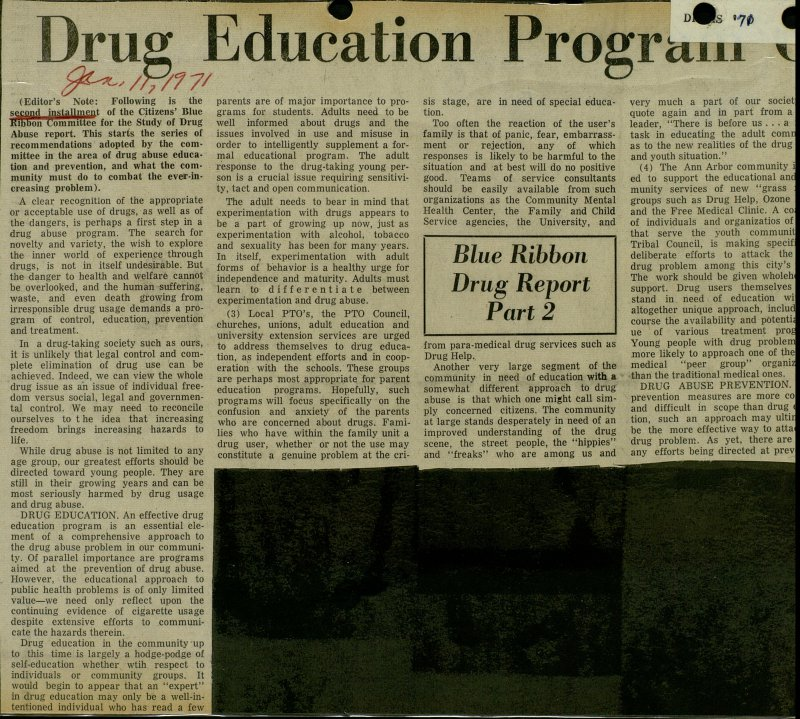Drug Education Program Led Essential image