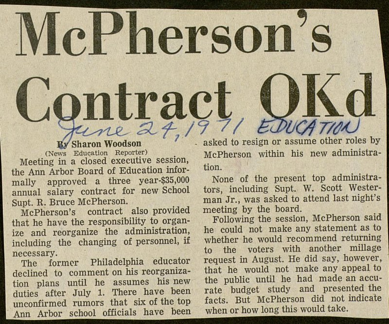 Mcpherson's Contract Okd image