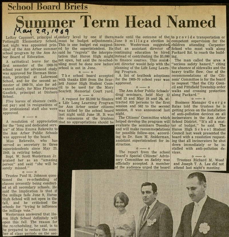Summer Term Head Named image