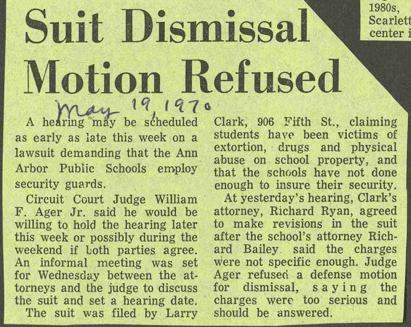 Suit Dismissal Motion Refused image