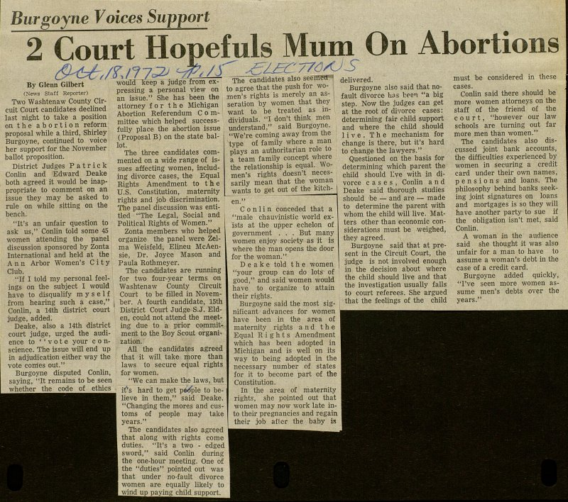 2 Court Hopefuls Mum On Abortions image