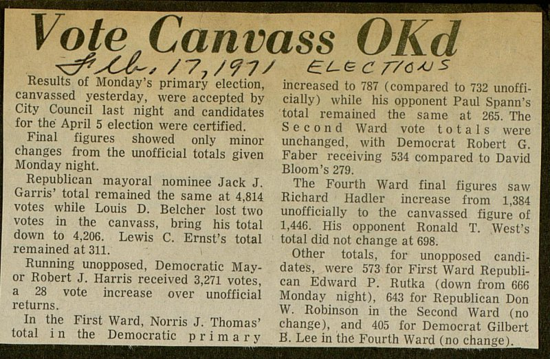 Vote Canvass Okd image