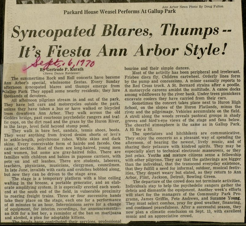 Syncopated Blares, Thumps - It's, Fiesta Ann Arbor Style! image