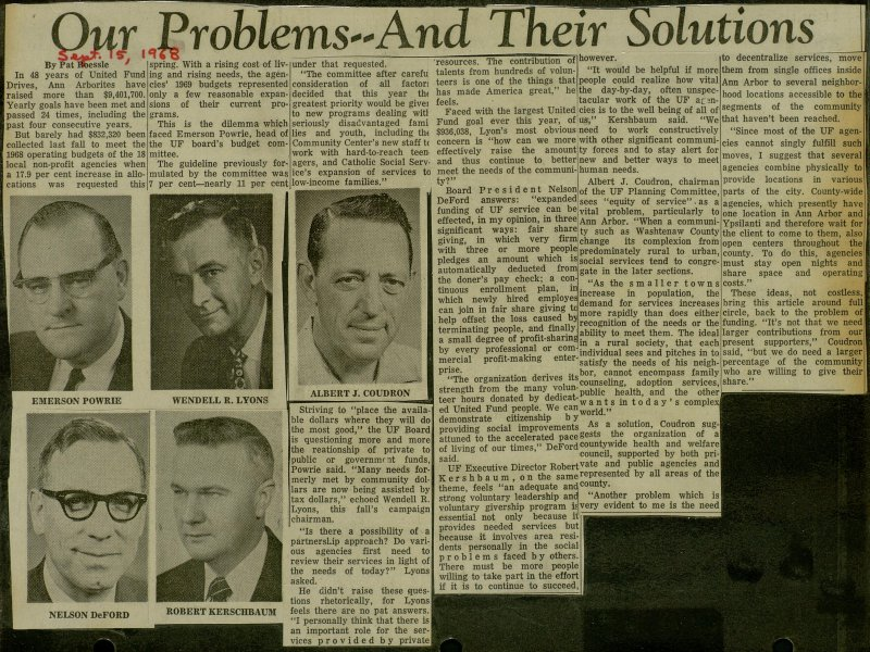 Our Problems--And Their Solutions image