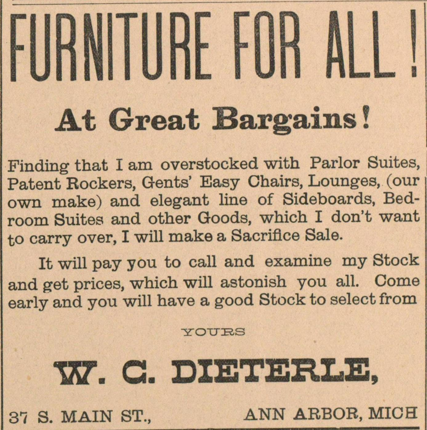Furniture For All! image