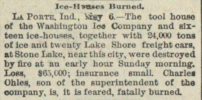 Ice-houses Burned image