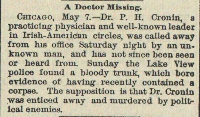 A Doctor Missing image